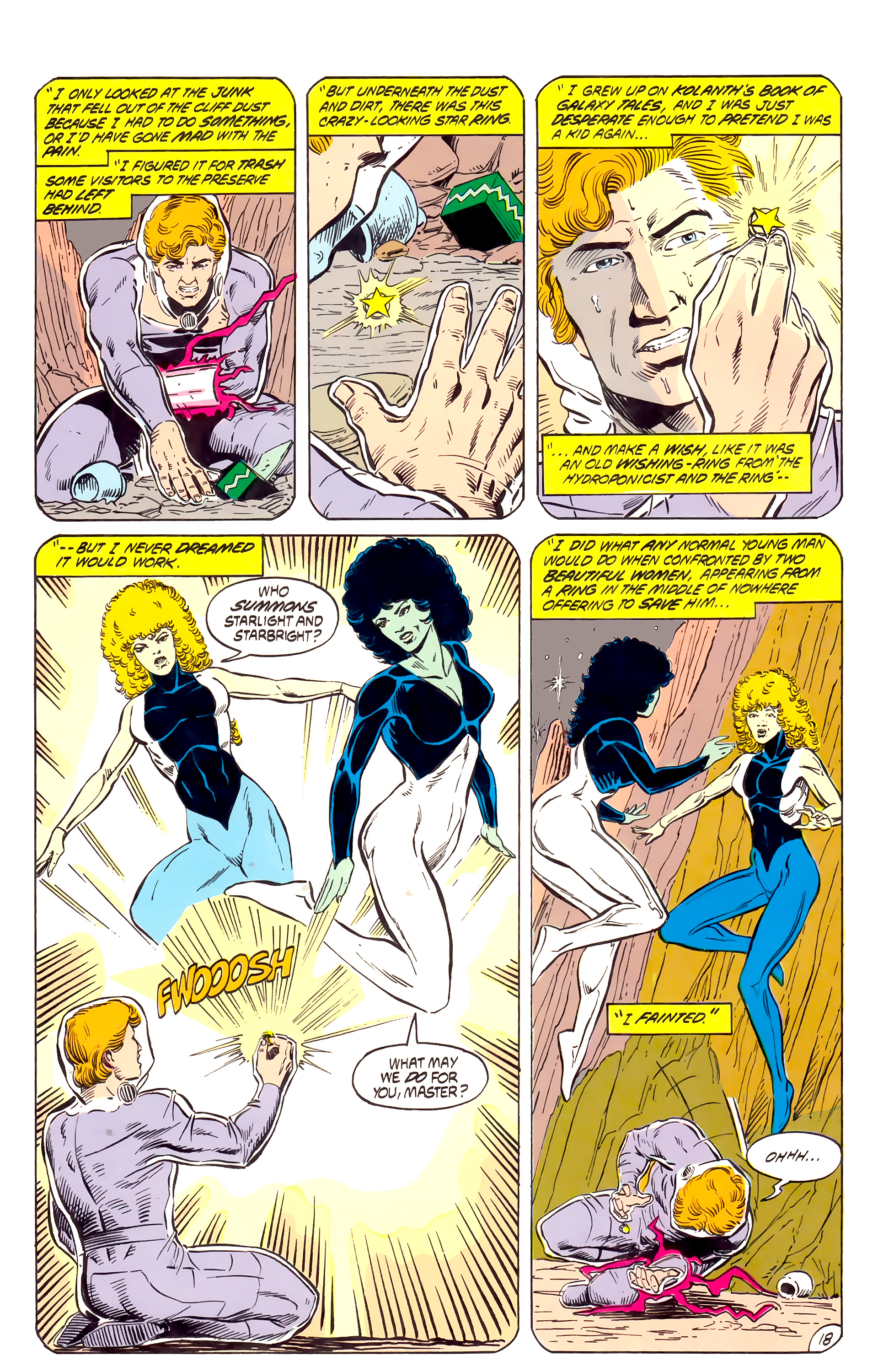 Legion of Super-Heroes (1984) _Annual_4 Page 18