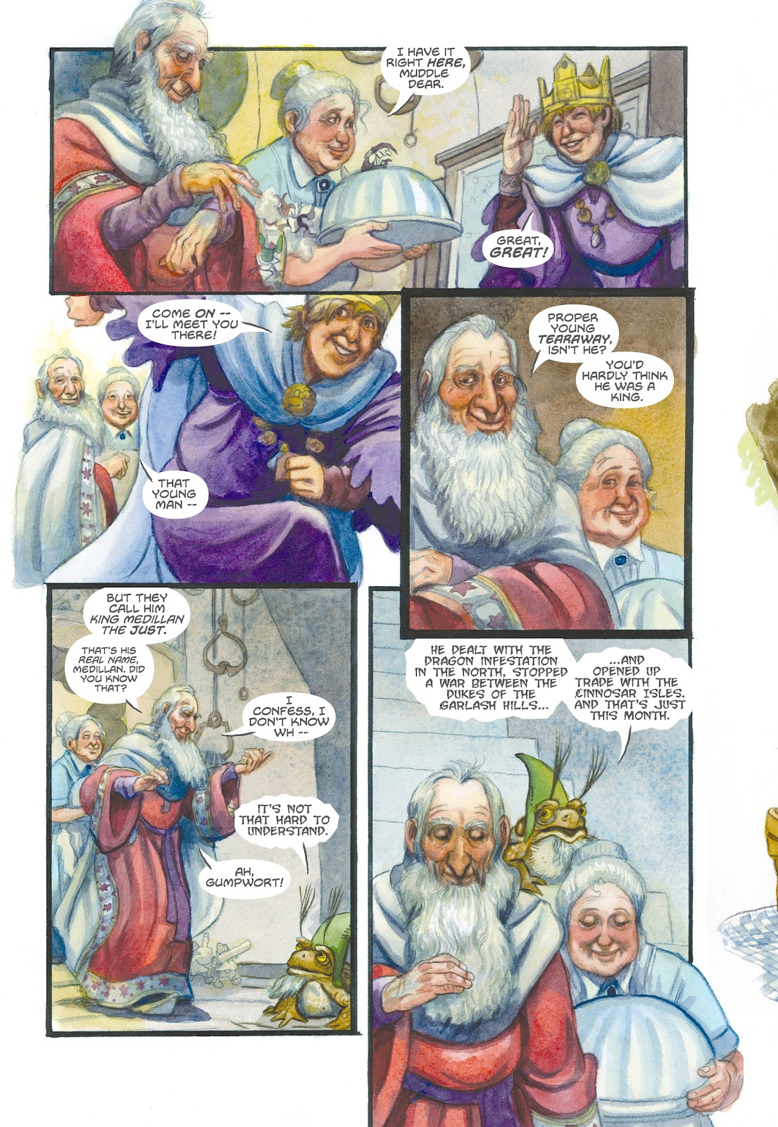 Read online The Wizard's Tale comic -  Issue # TPB - 135