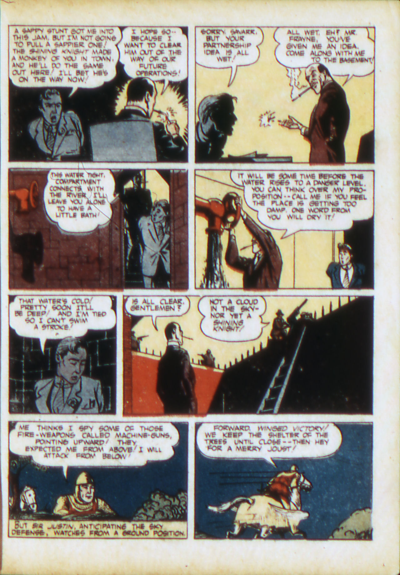 Read online Adventure Comics (1938) comic -  Issue #71 - 26