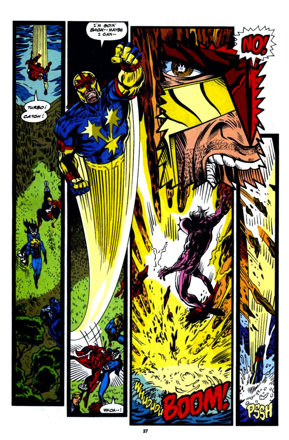 The New Warriors Issue #56 #60 - English 20