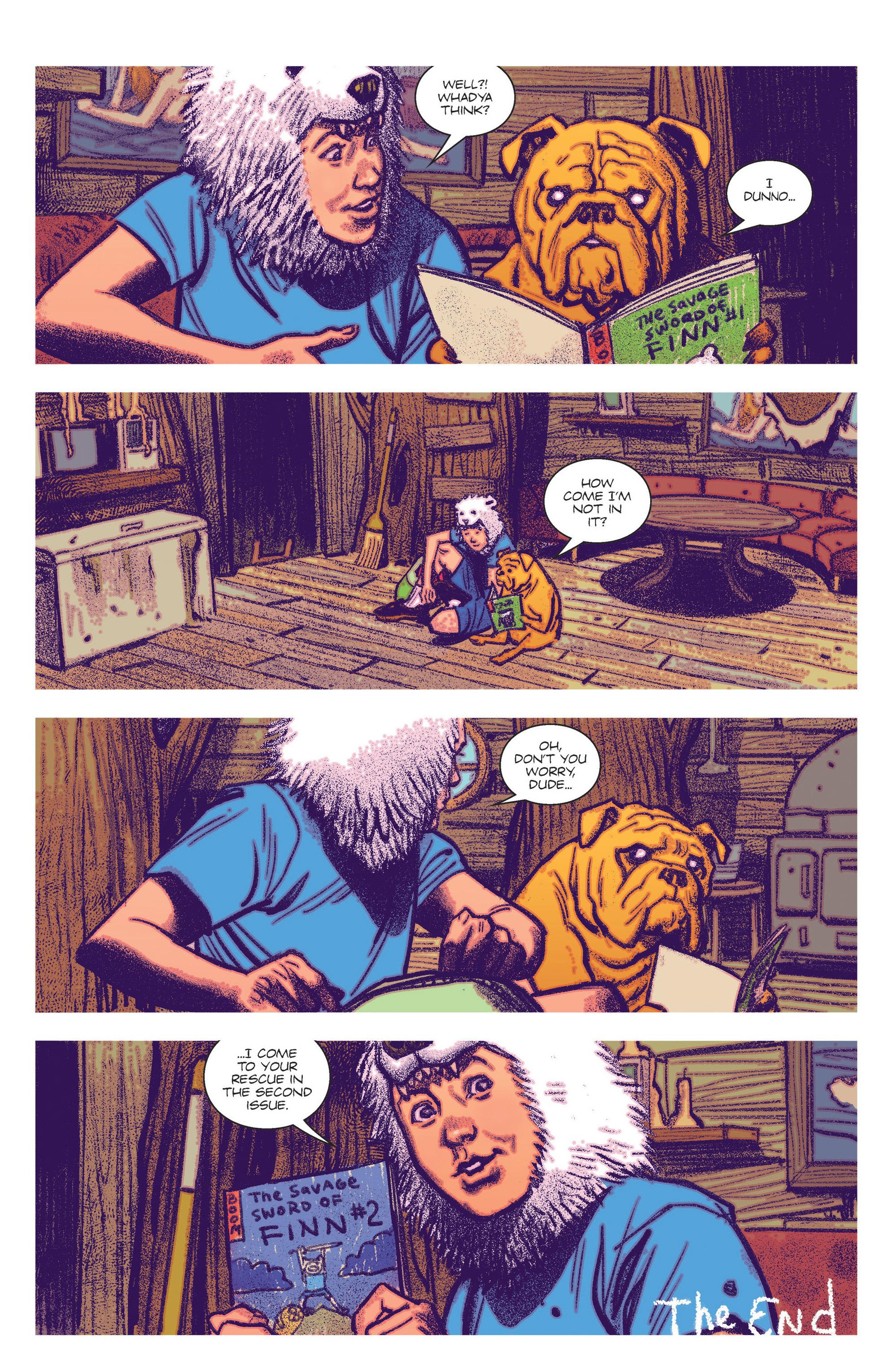 Read online Adventure Time Comics comic -  Issue #2 - 14