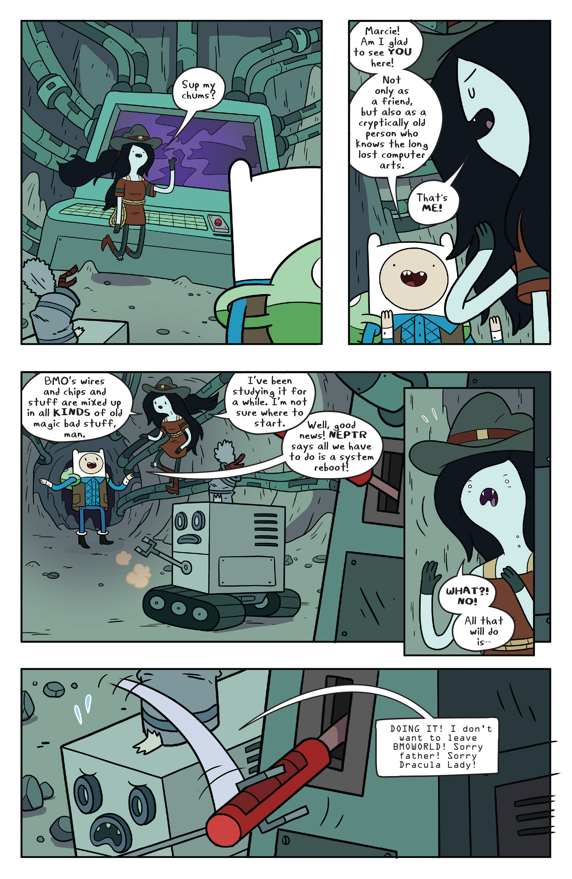 Read online Adventure Time comic -  Issue #56 - 18