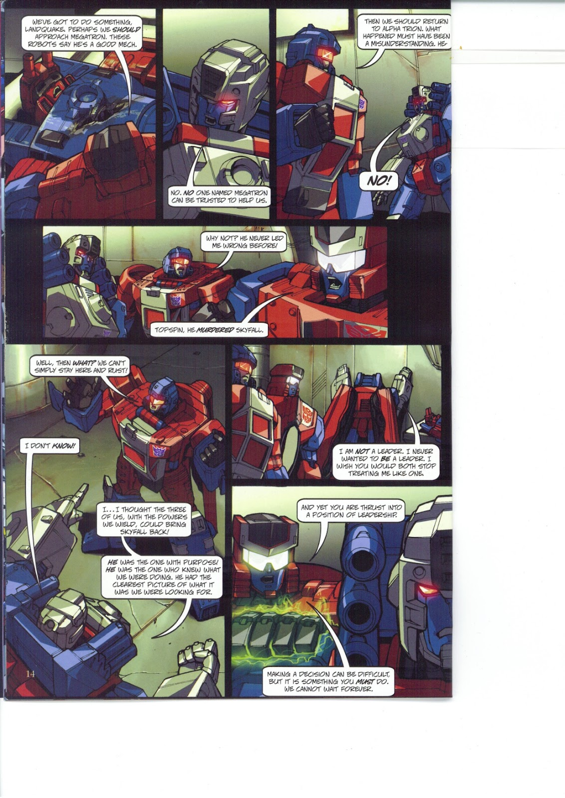 Read online Transformers: Collectors' Club comic -  Issue #26 - 14