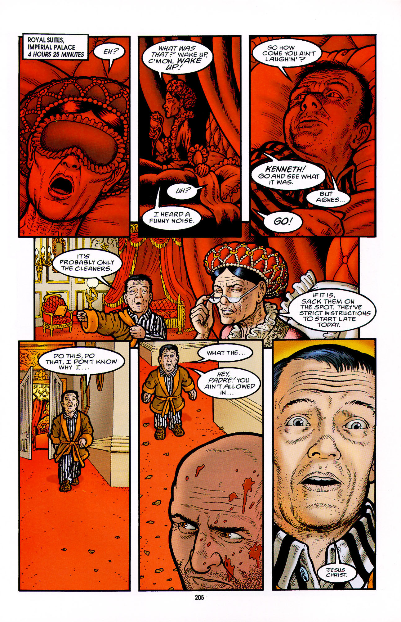 Read online Heart of Empire comic -  Issue #7 - 11