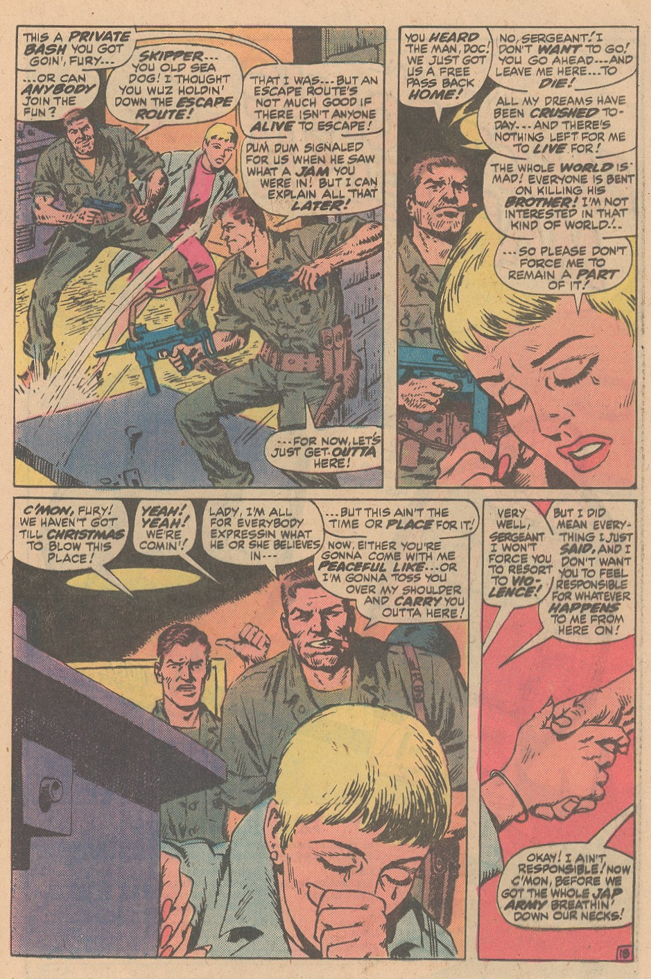 Read online Sgt. Fury comic -  Issue #161 - 25