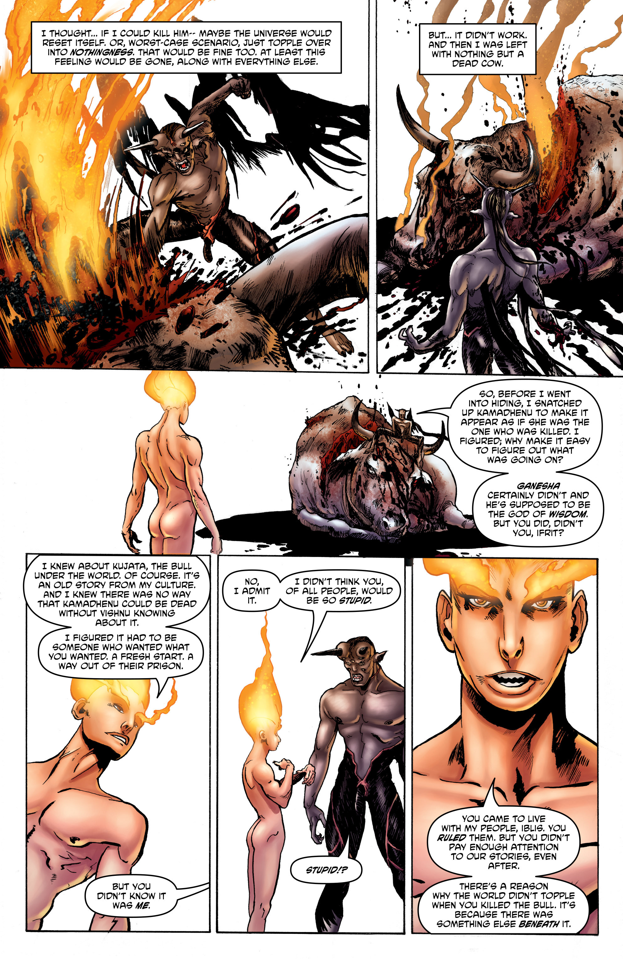 Read online God is Dead: Book of Acts comic -  Issue # Omega - 21