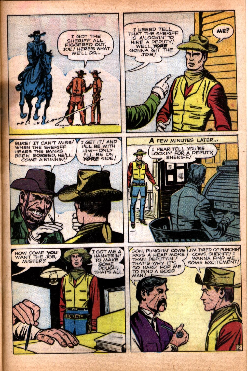 Gunsmoke Western issue 64 - Page 29