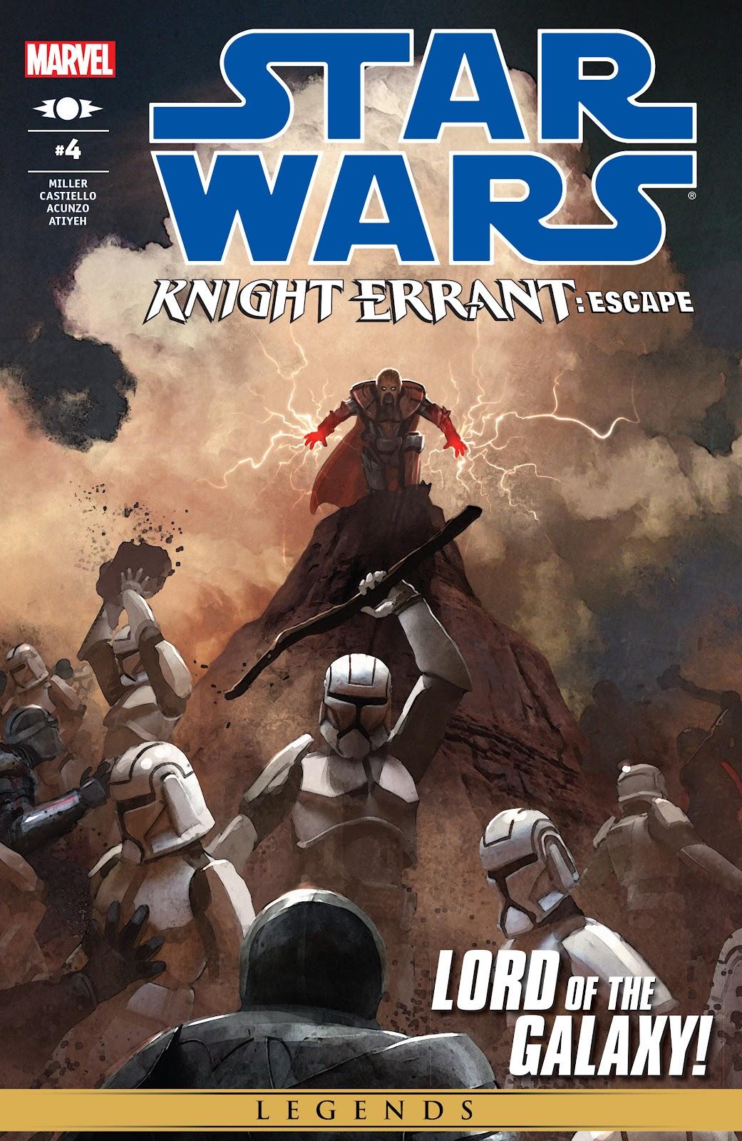 Star Wars: Knight Errant - Escape 4 Page 1