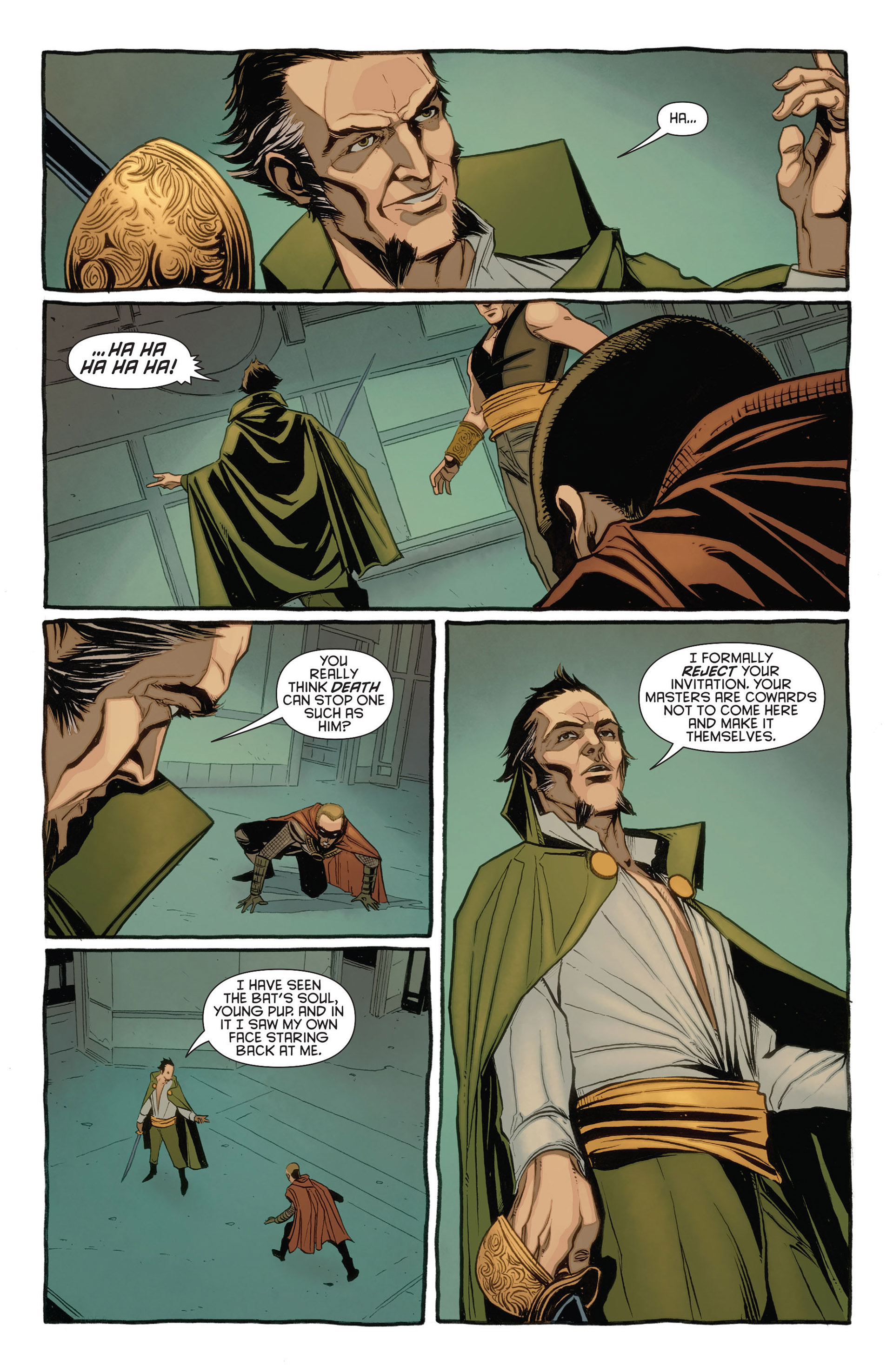 Read online Batman and Robin (2011) comic -  Issue #23.3 - 15