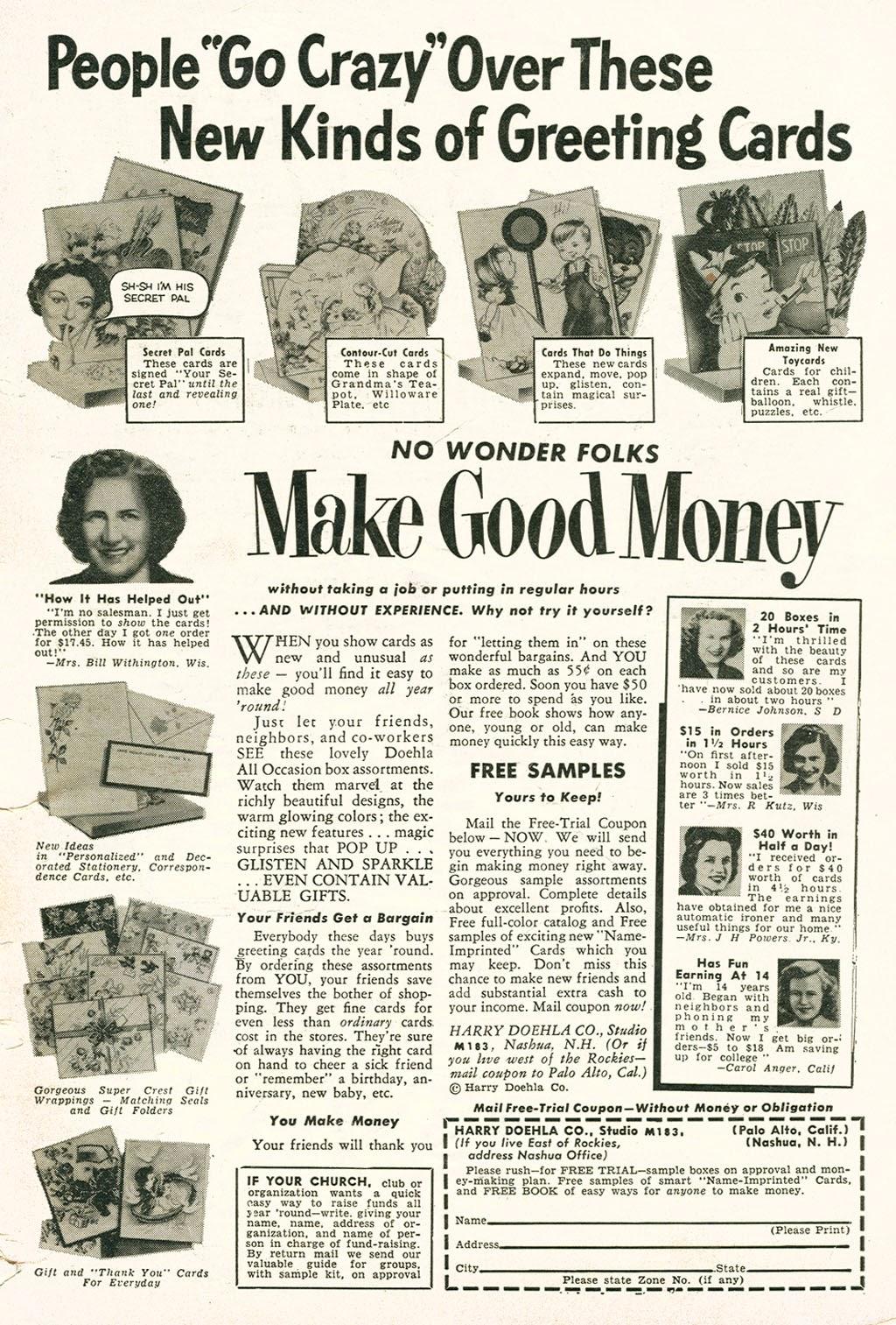 Love Romances (1949) issue 48 - Page 35