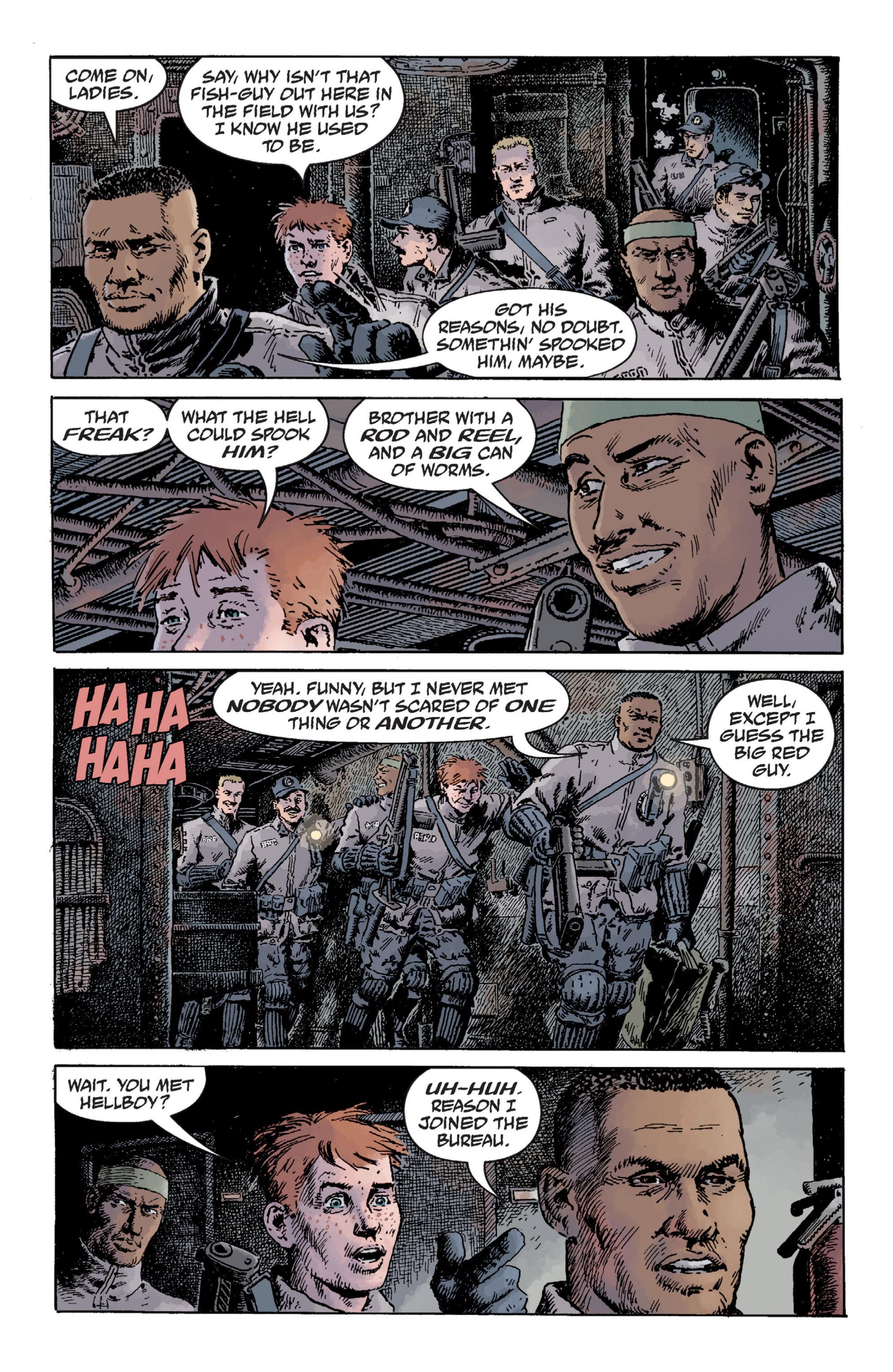 Read online B.P.R.D. (2003) comic -  Issue # TPB 12 - 62