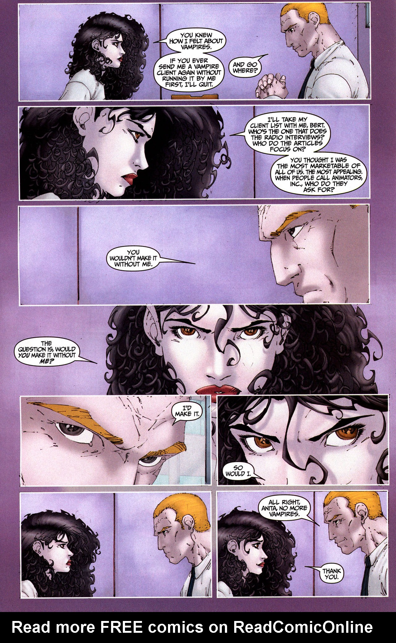 Read online Anita Blake, Vampire Hunter: Guilty Pleasures comic -  Issue #5 - 6
