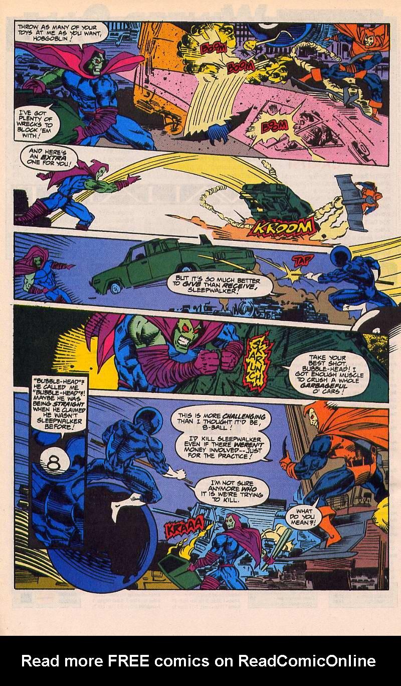 Read online Sleepwalker comic -  Issue #21 - 21