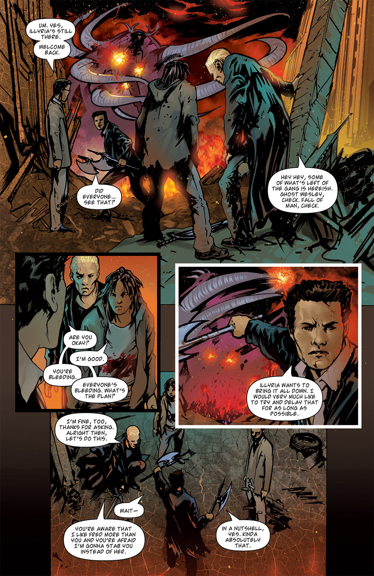 Read online Angel: After The Fall comic -  Issue #15 - 12
