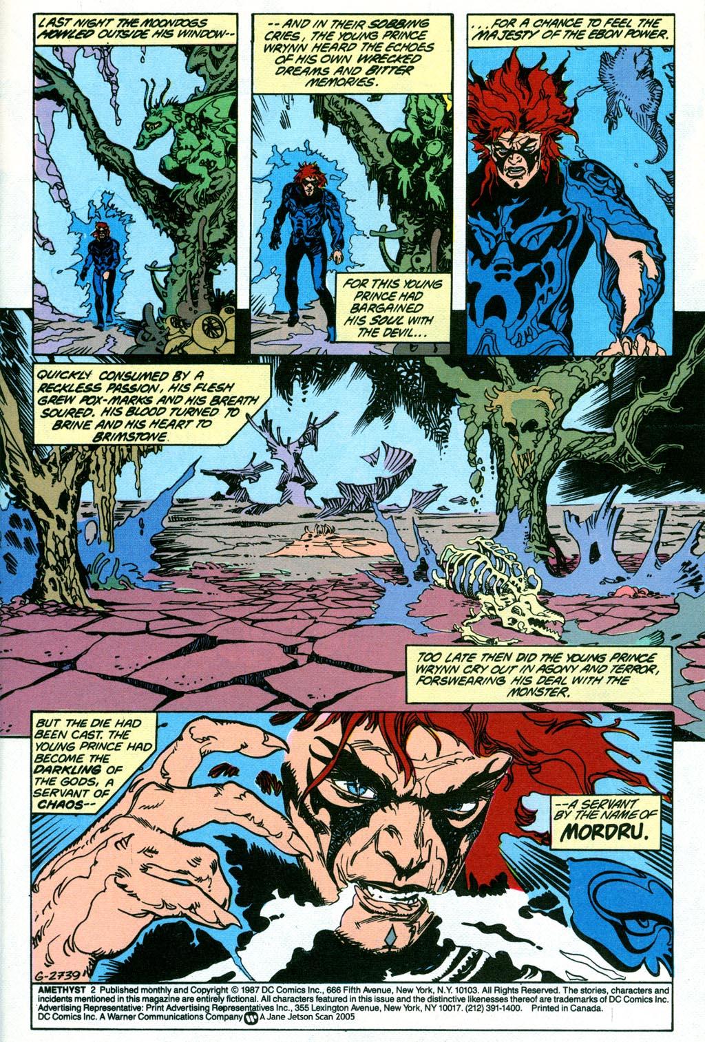 Read online Amethyst (1987) comic -  Issue #2 - 3