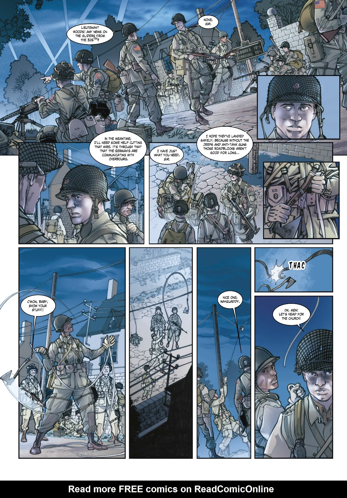 Read online Opération Overlord comic -  Issue #1 - 29
