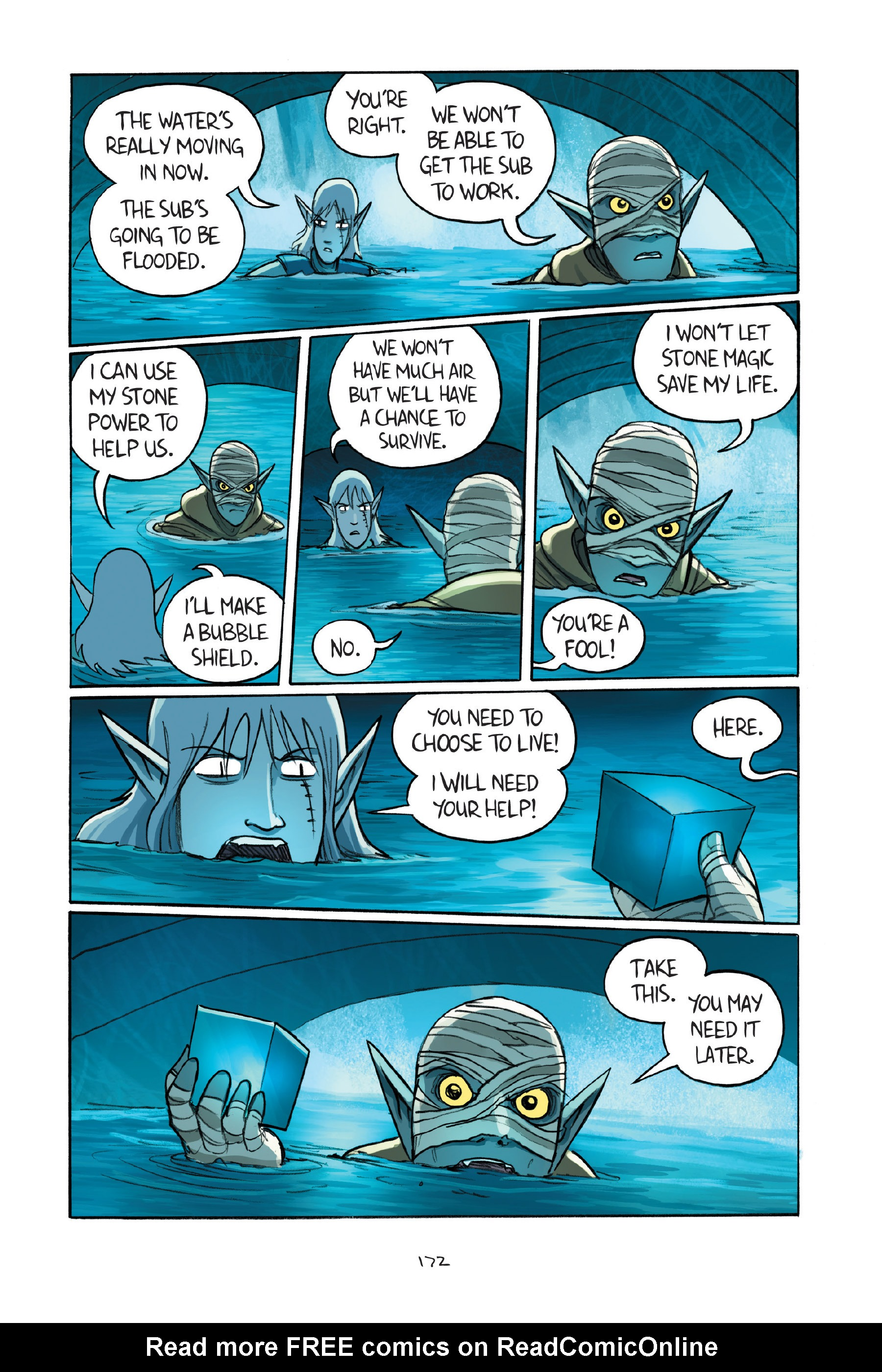 Read online Amulet comic -  Issue #7 - 172