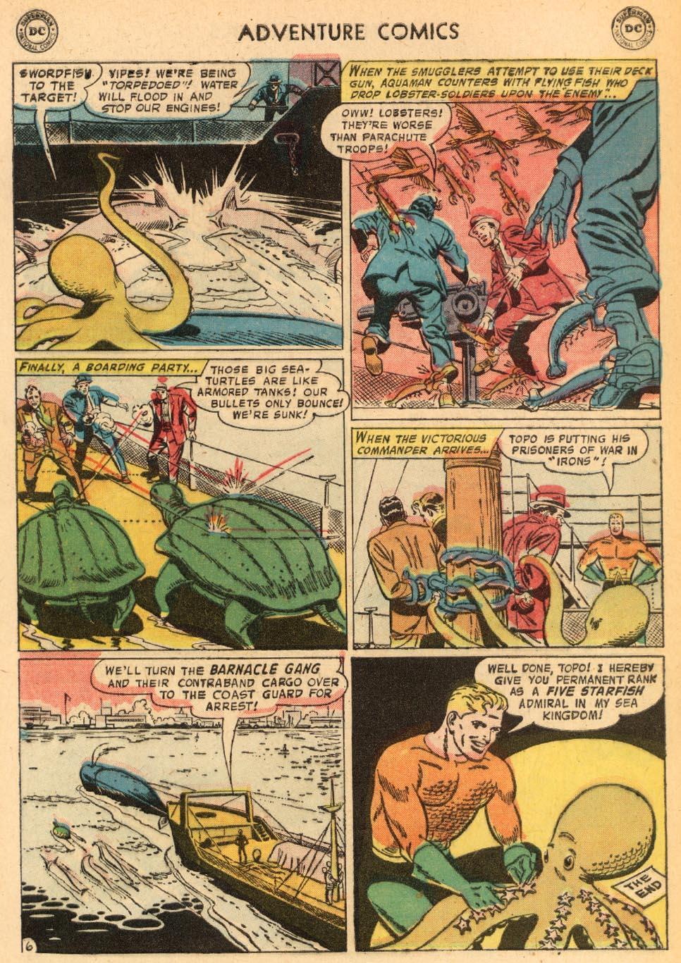 Read online Adventure Comics (1938) comic -  Issue #249 - 32