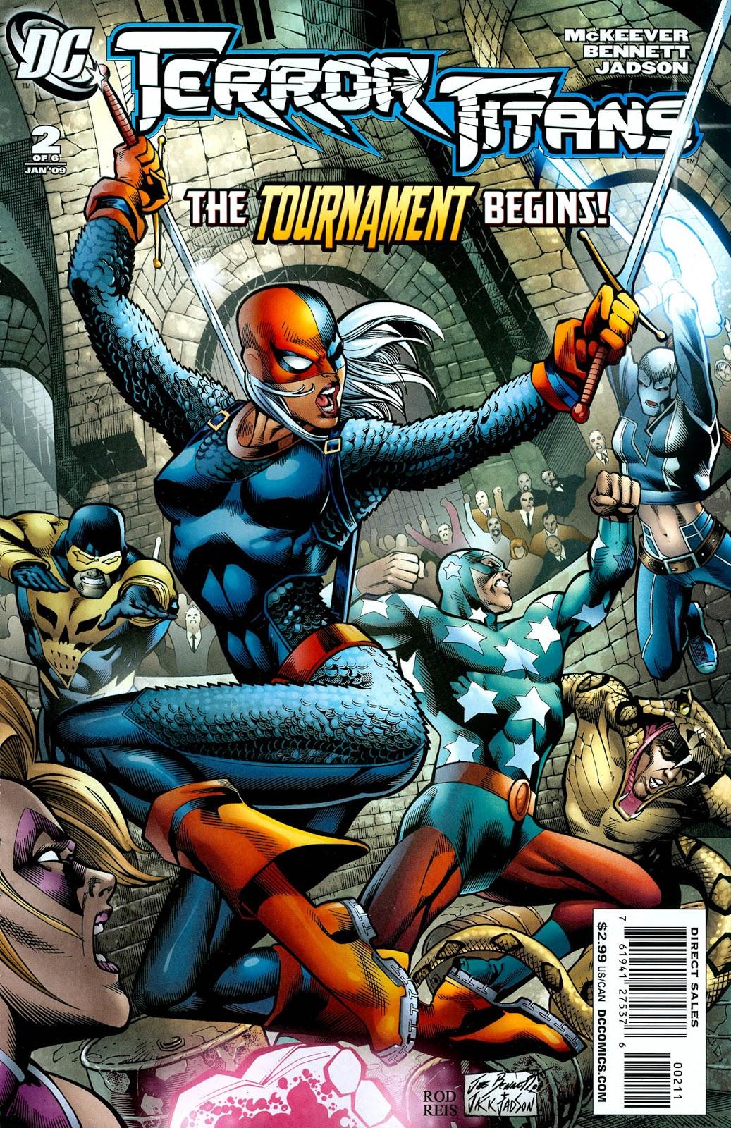 Terror Titans issue 2 - Page 1