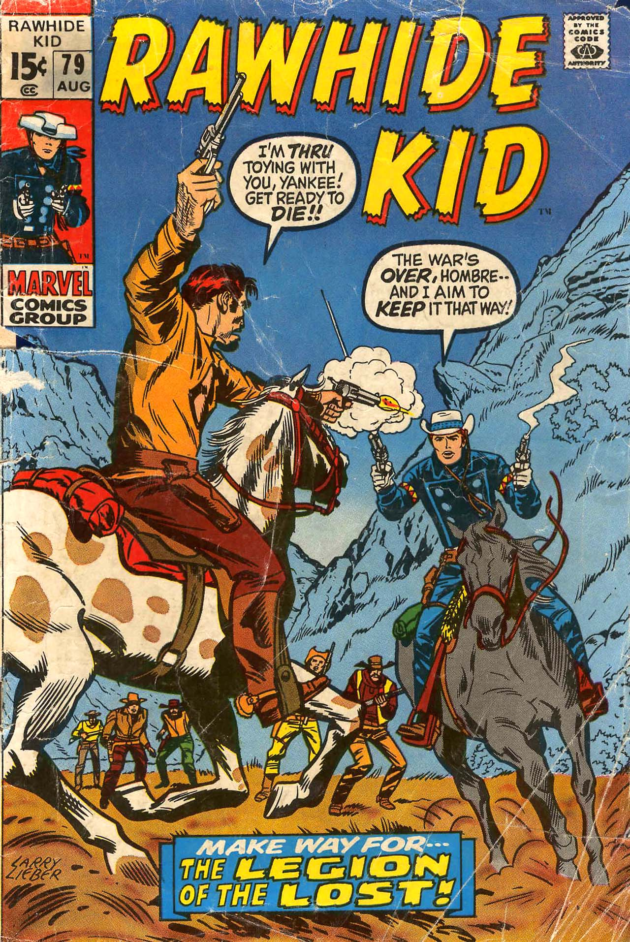 The Rawhide Kid (1955) 79 Page 1
