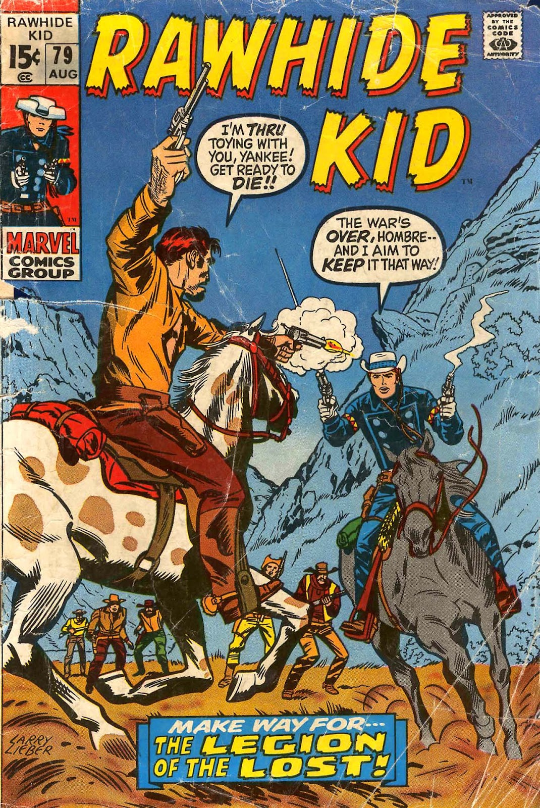The Rawhide Kid (1955) issue 79 - Page 1