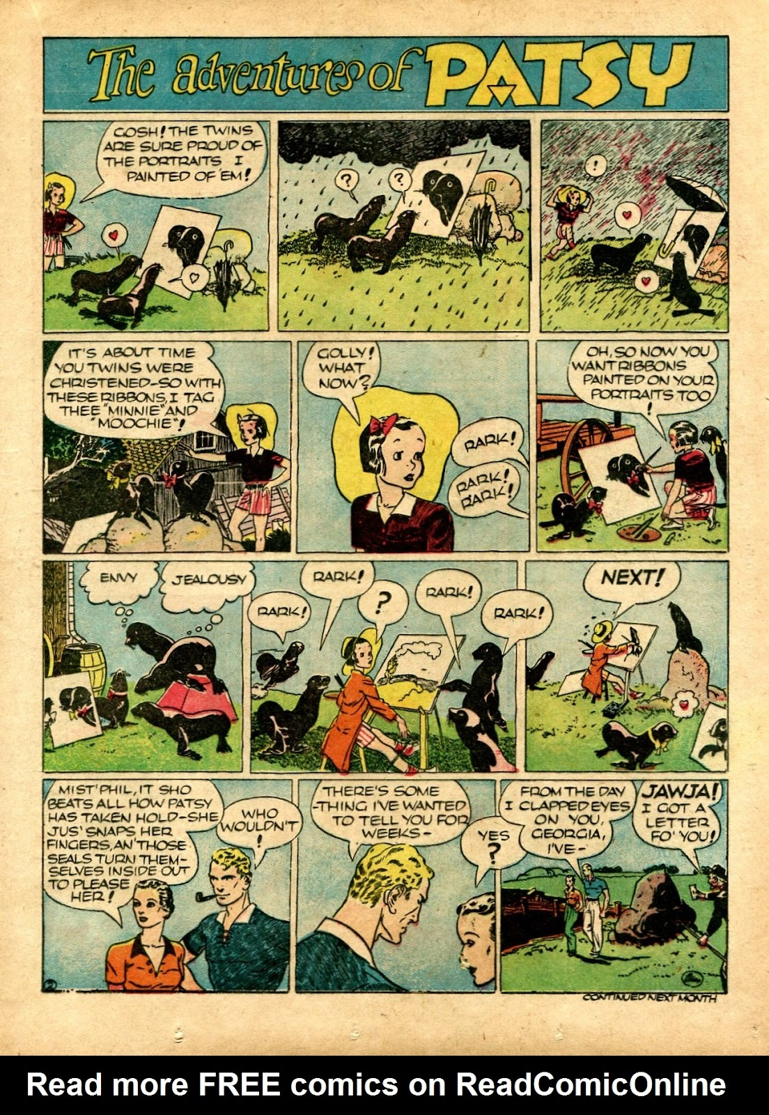 Read online Famous Funnies comic -  Issue #72 - 31