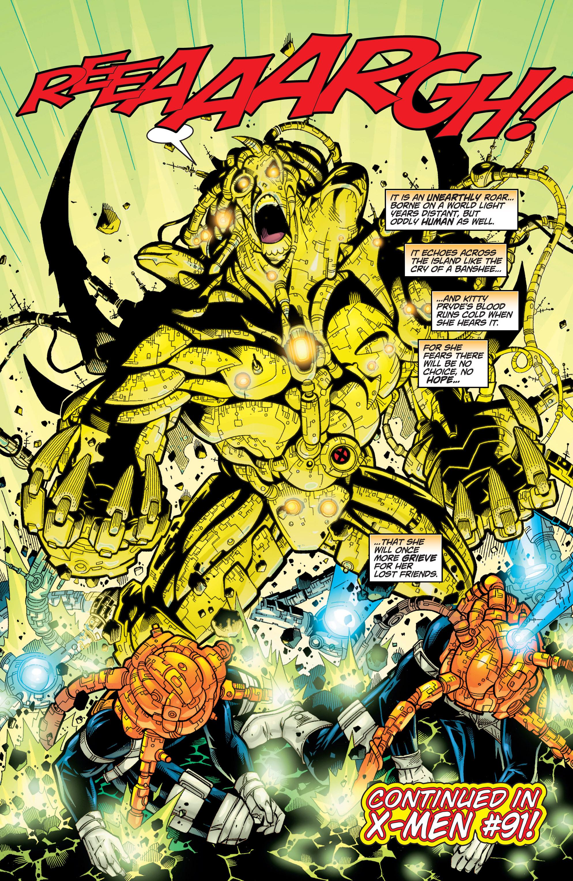 Read online Uncanny X-Men (1963) comic -  Issue #371 - 23