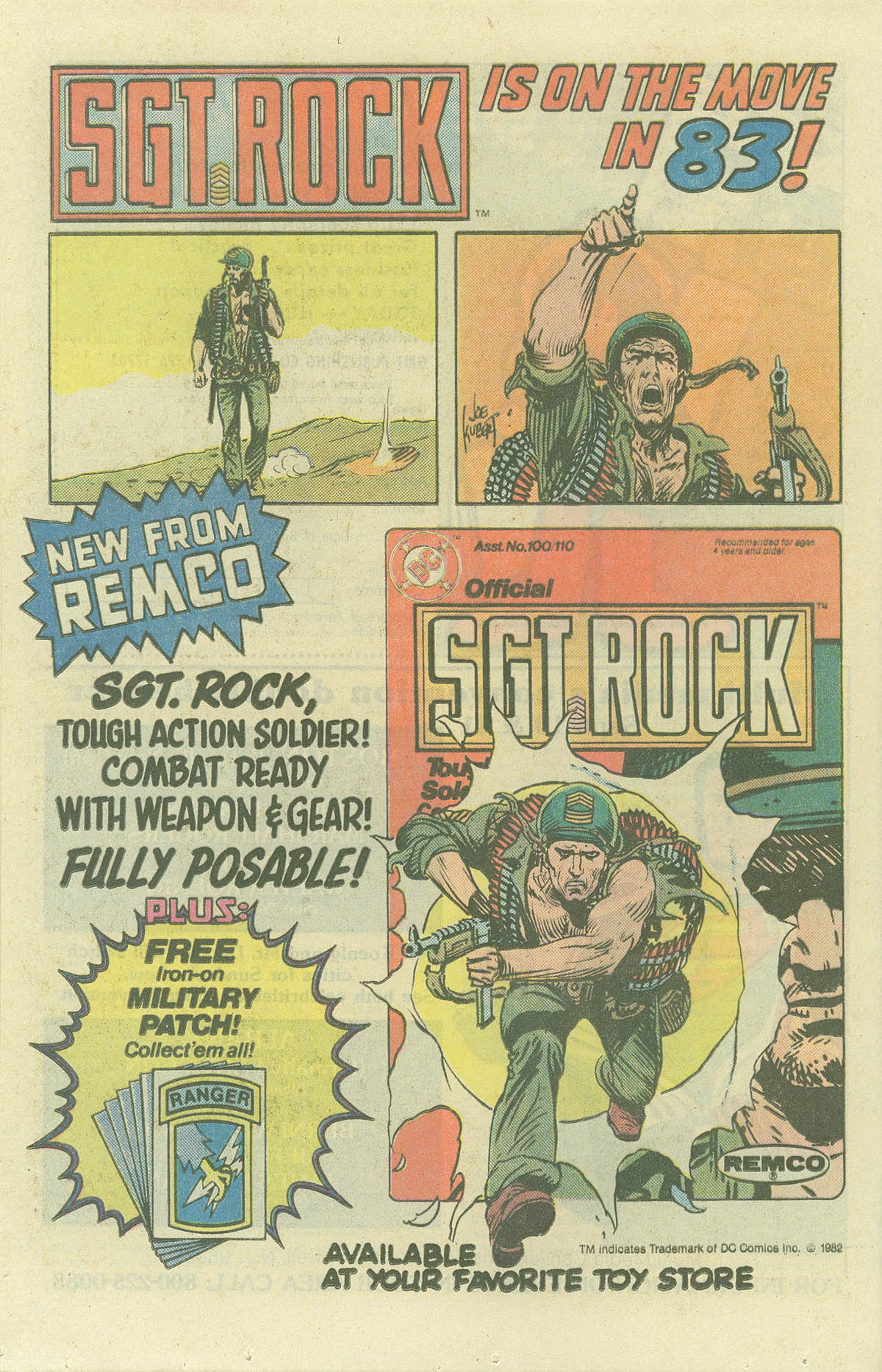 Read online Sgt. Rock comic -  Issue #382 - 22