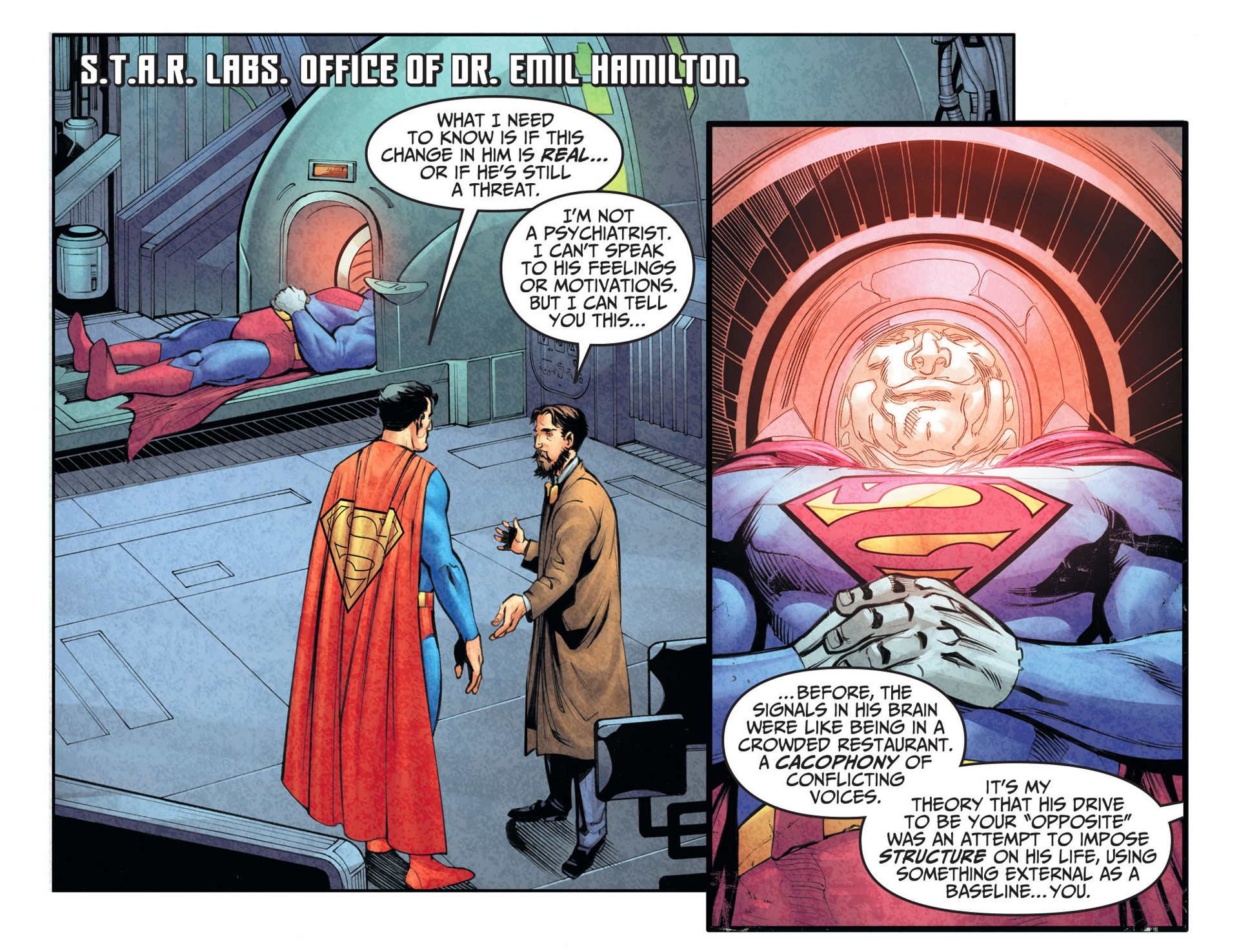 Read online Adventures of Superman [I] comic -  Issue #26 - 5