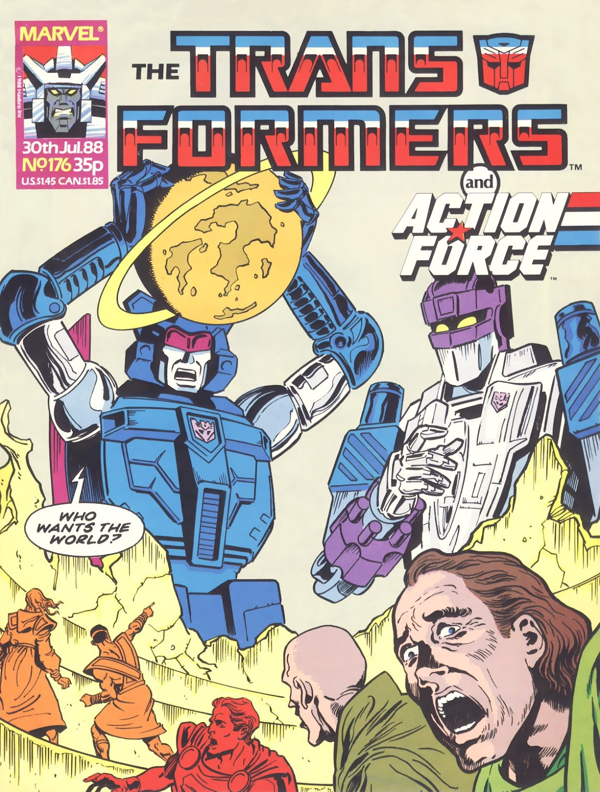 The Transformers (UK) 176 Page 1