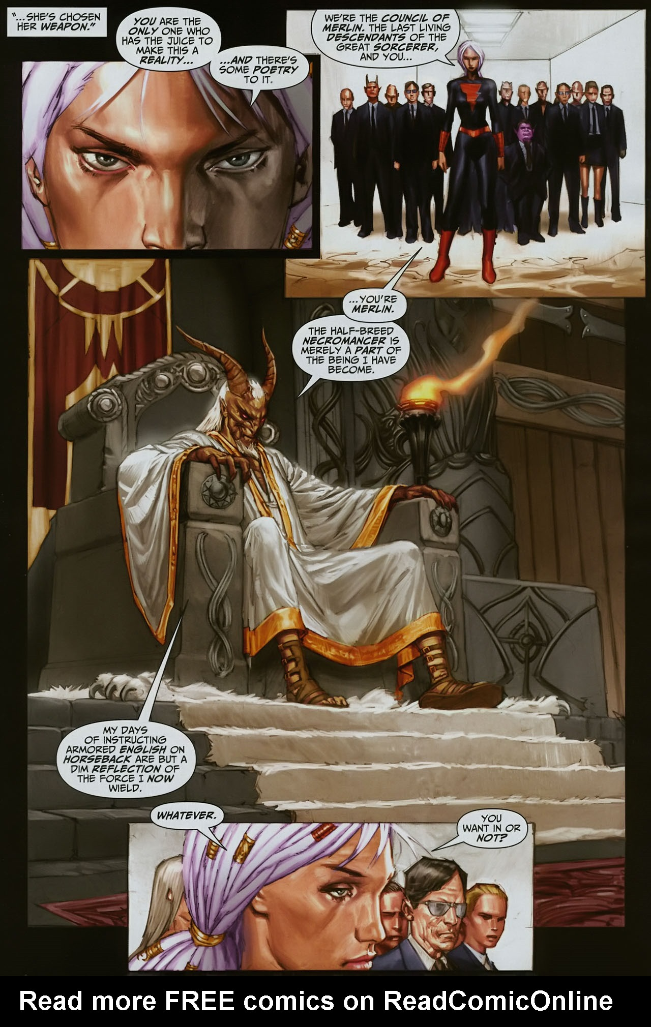 Read online Trials of Shazam comic -  Issue #12 - 7