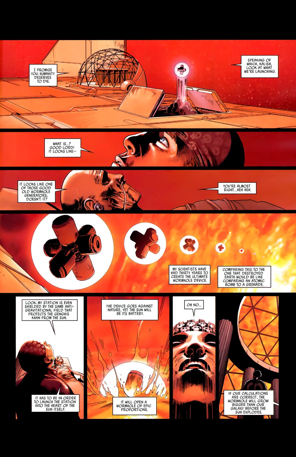 Read online Universal War One: Revelations comic -  Issue #3 - 37