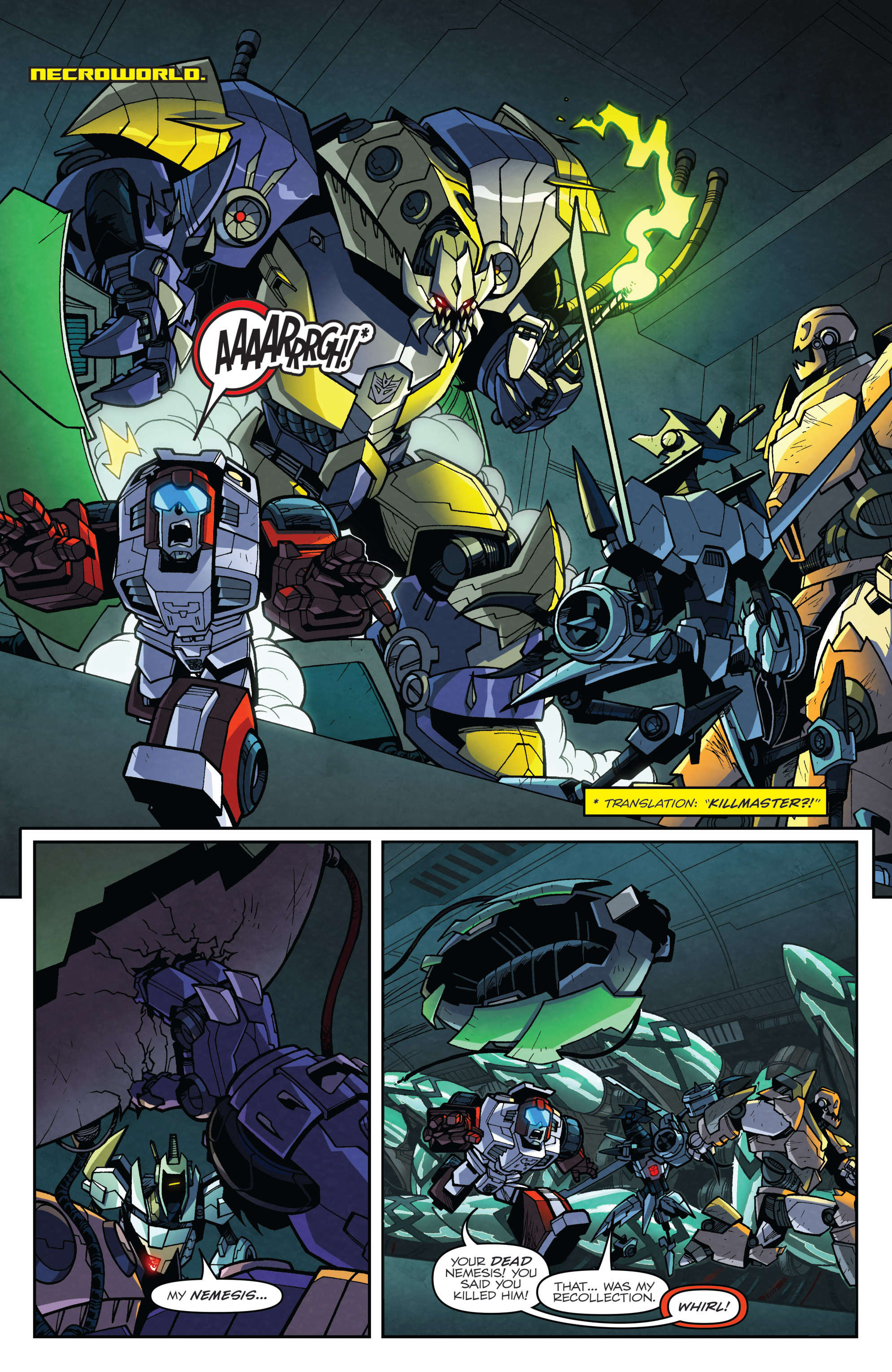 Read online Transformers: Lost Light comic -  Issue #3 - 8