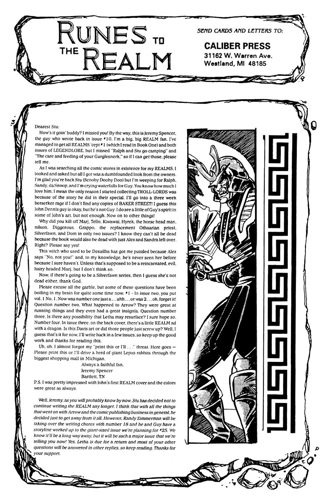 The Realm (1986) issue 17 - Page 31