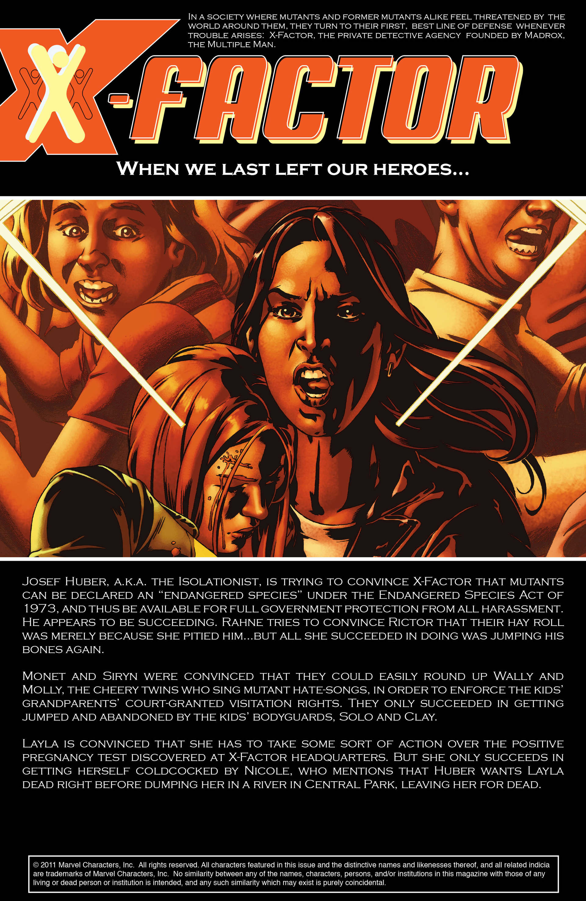Read online X-Factor (2006) comic -  Issue #23 - 3