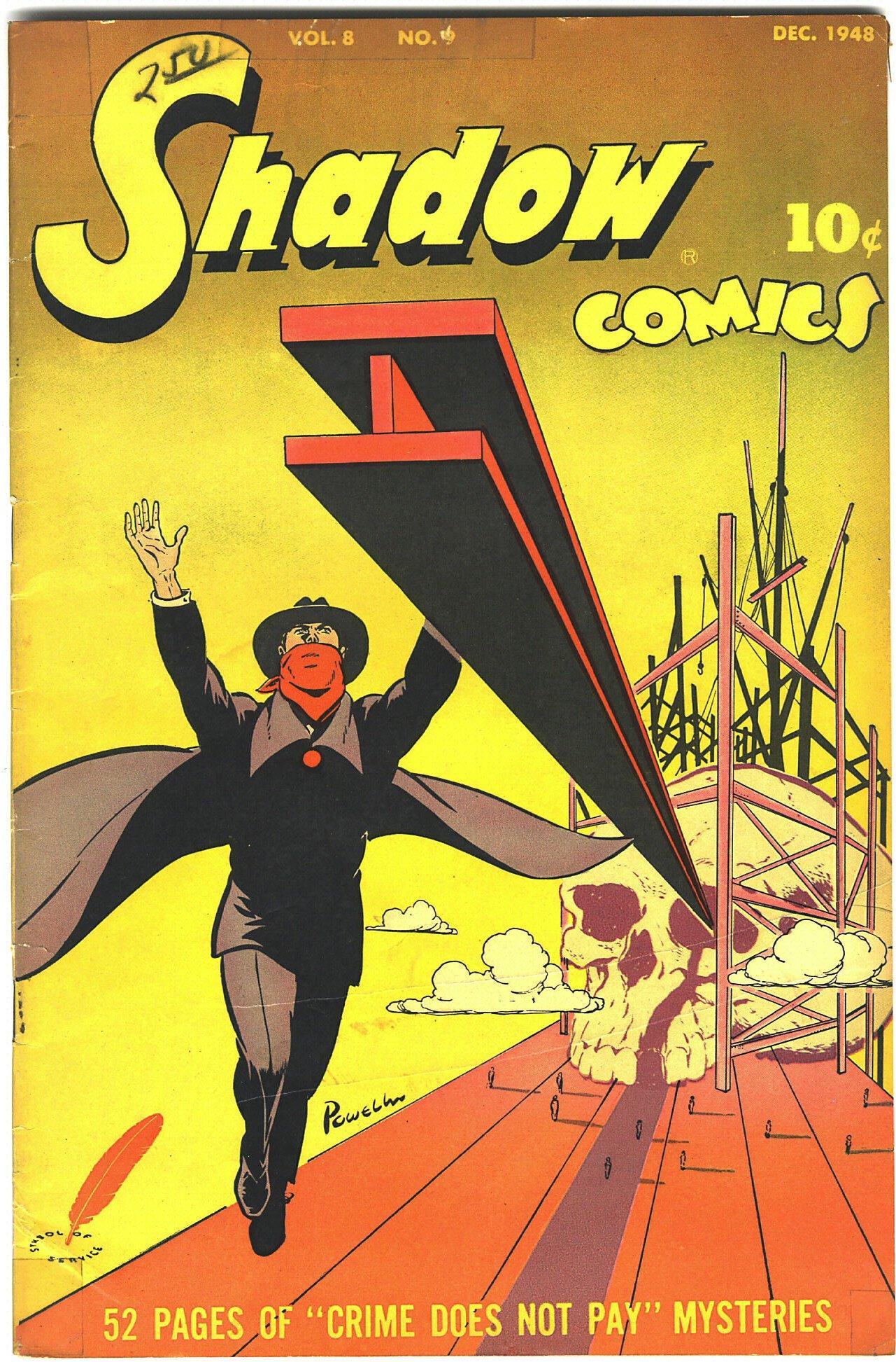Read online Shadow Comics comic -  Issue #93 - 1