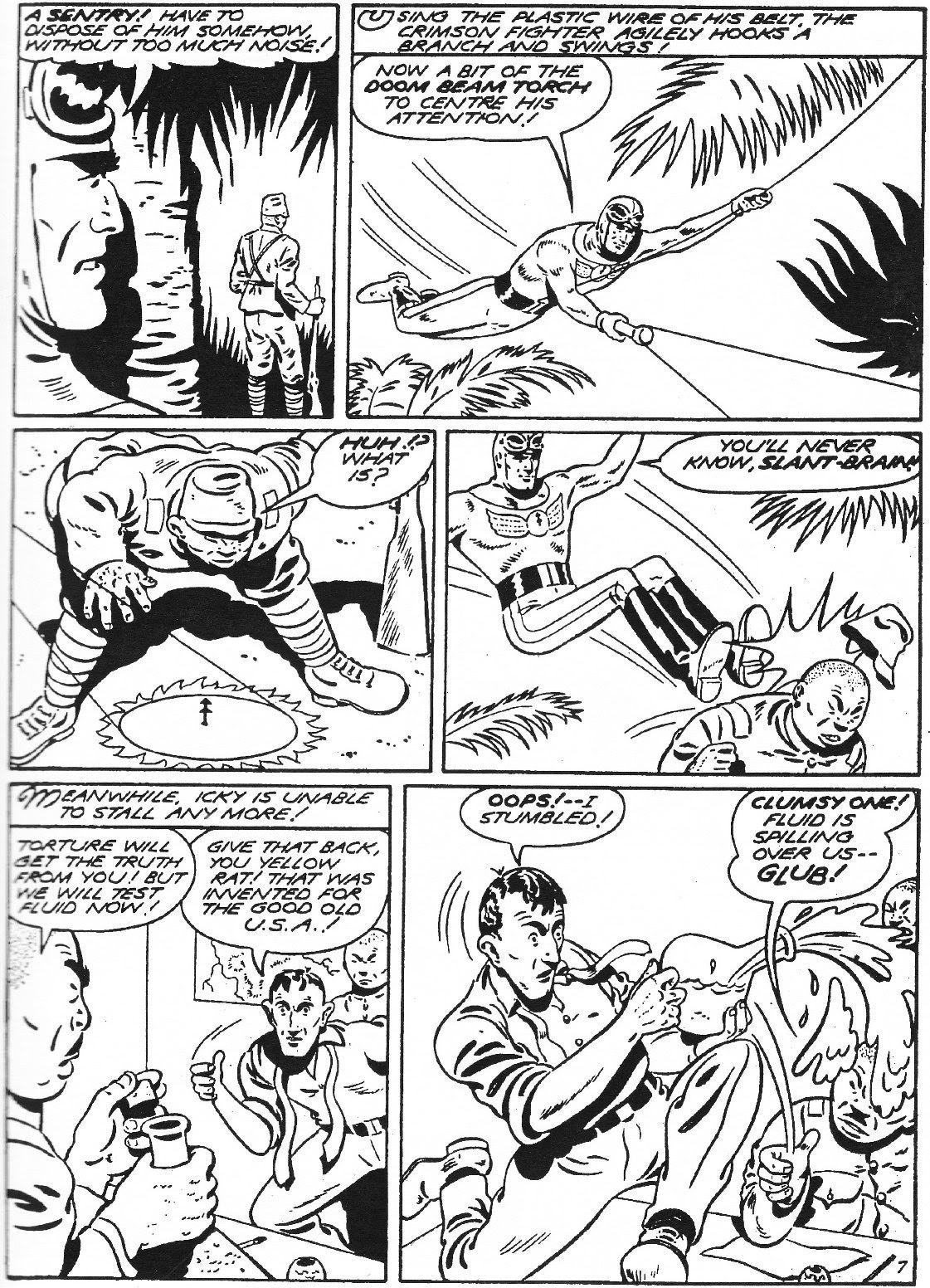 Captain Midnight (1942) issue 11 - Page 8