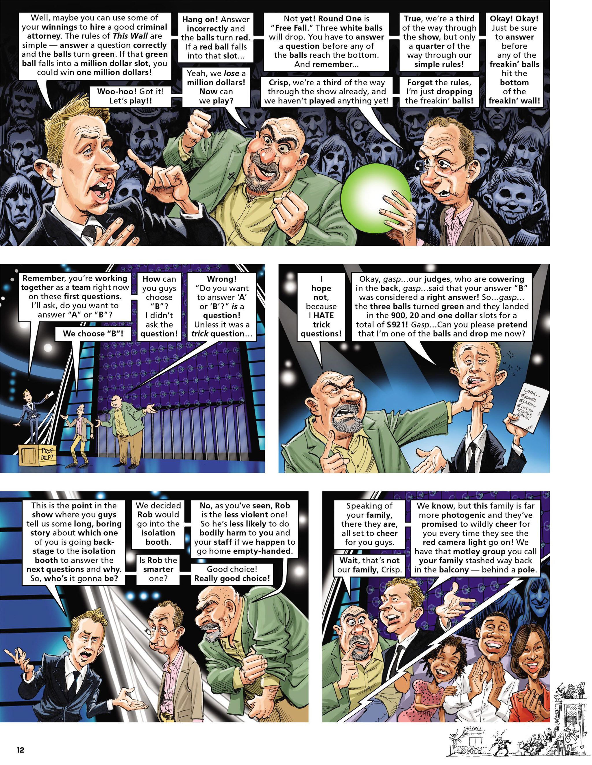 Read online MAD comic -  Issue #546 - 12