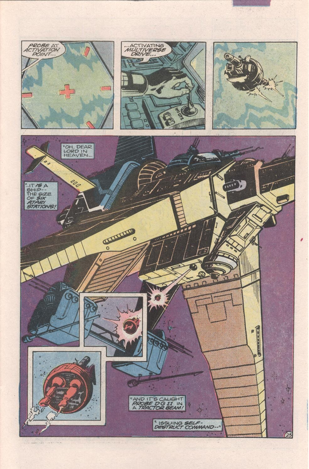 Read online Atari Force (1984) comic -  Issue #4 - 25