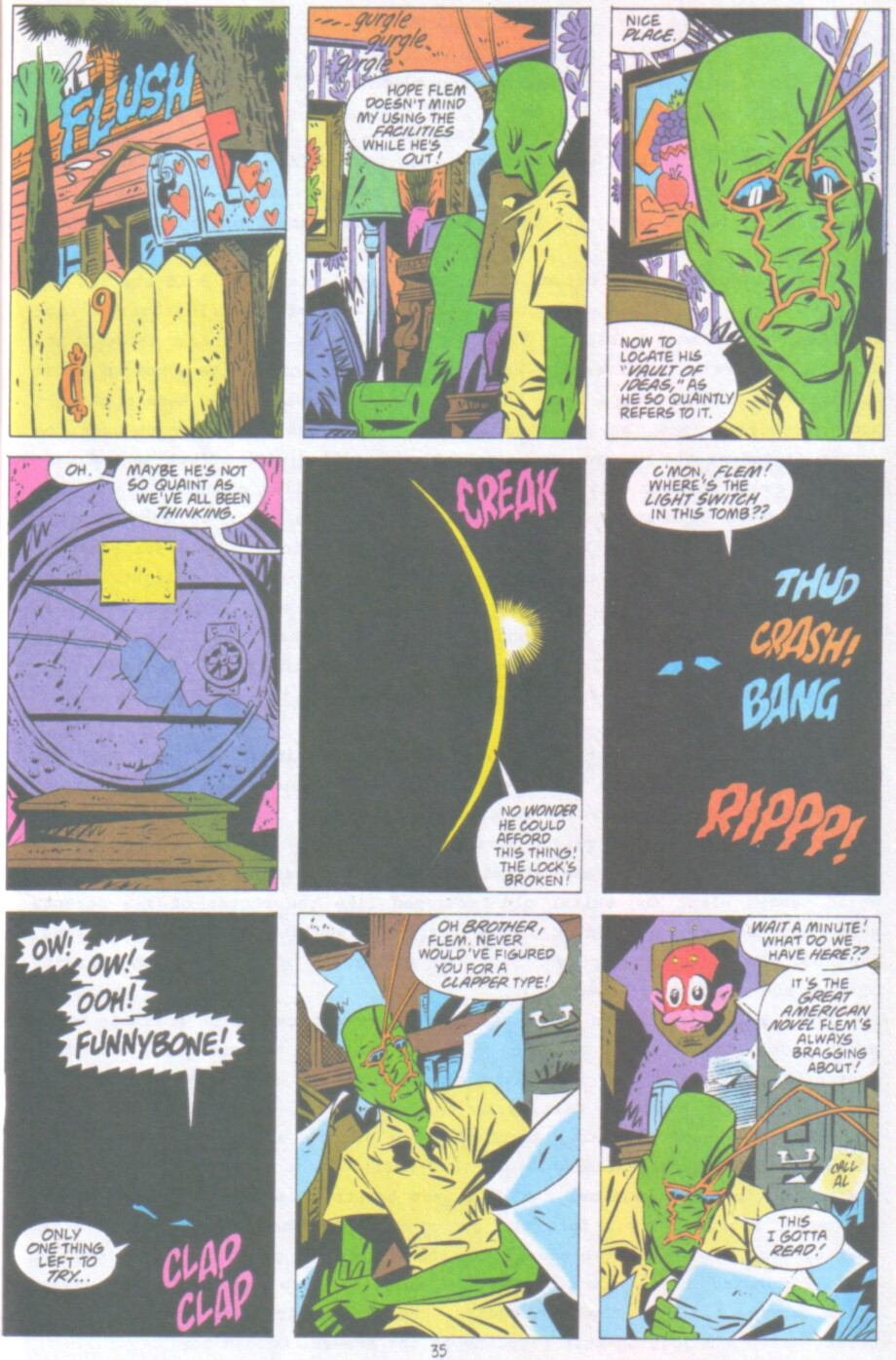 Read online Ambush Bug Nothing Special comic -  Issue # Full - 28