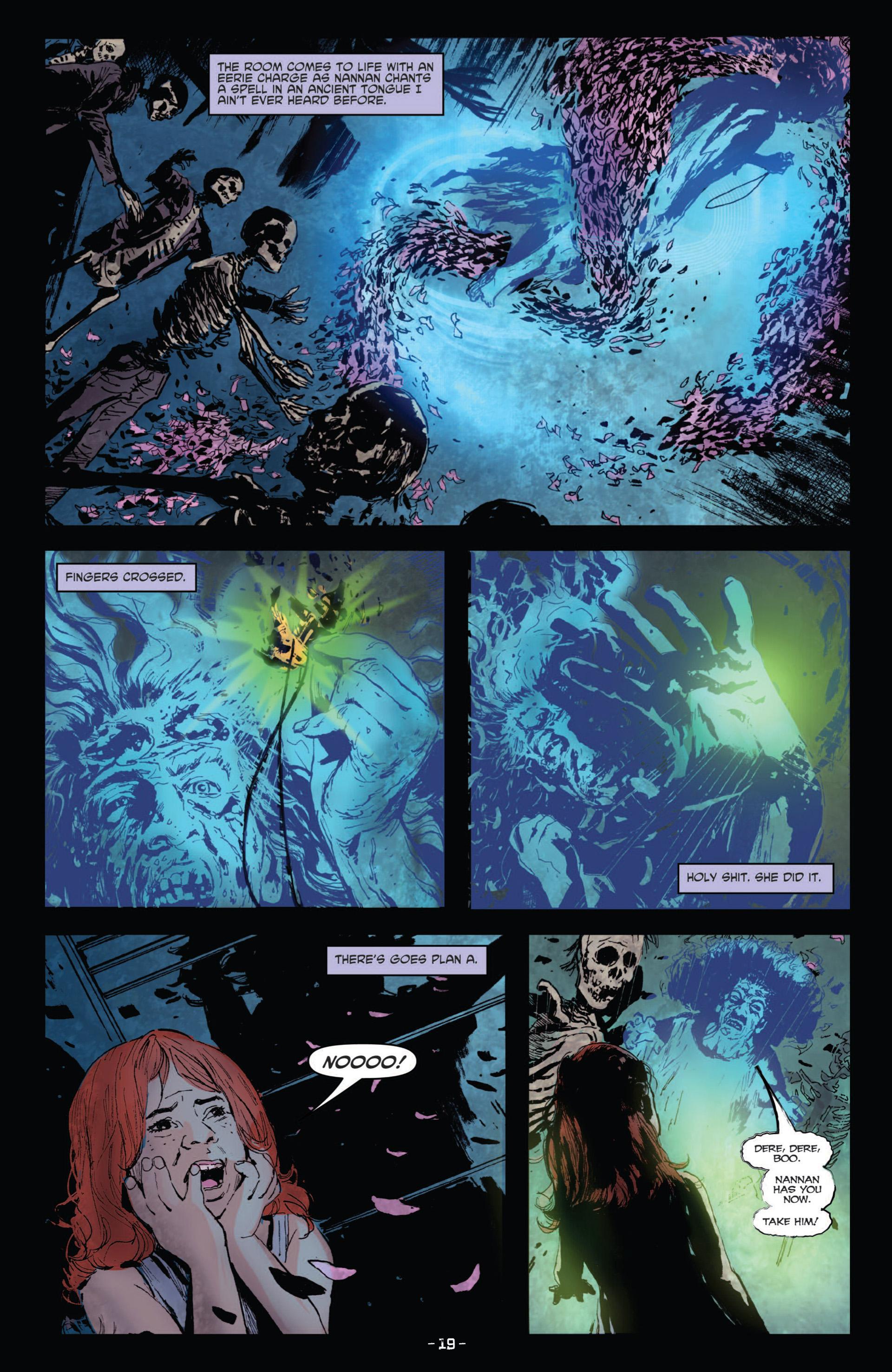 Read online True Blood (2012) comic -  Issue #10 - 21