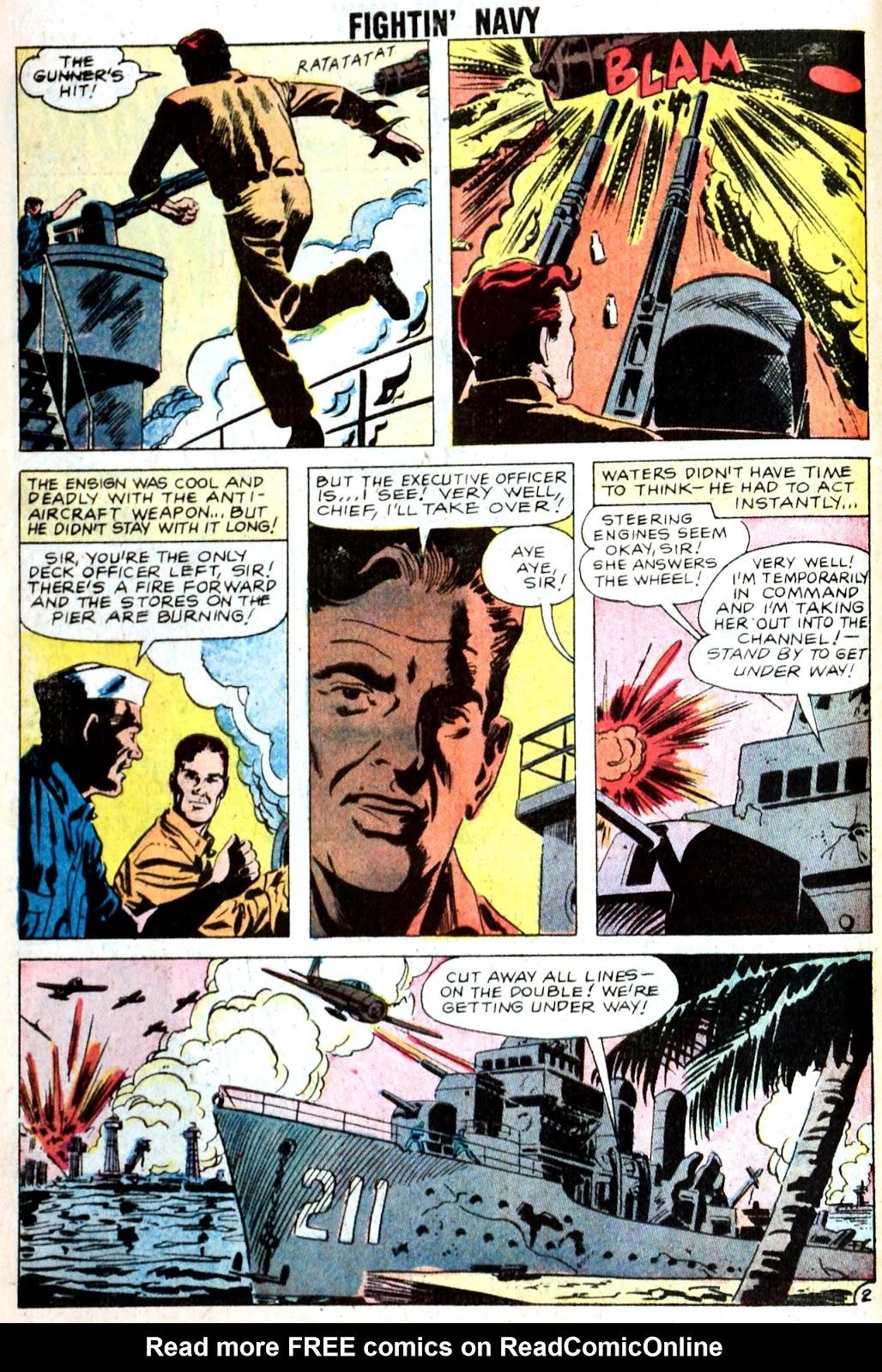 Read online Fightin' Navy comic -  Issue #85 - 10