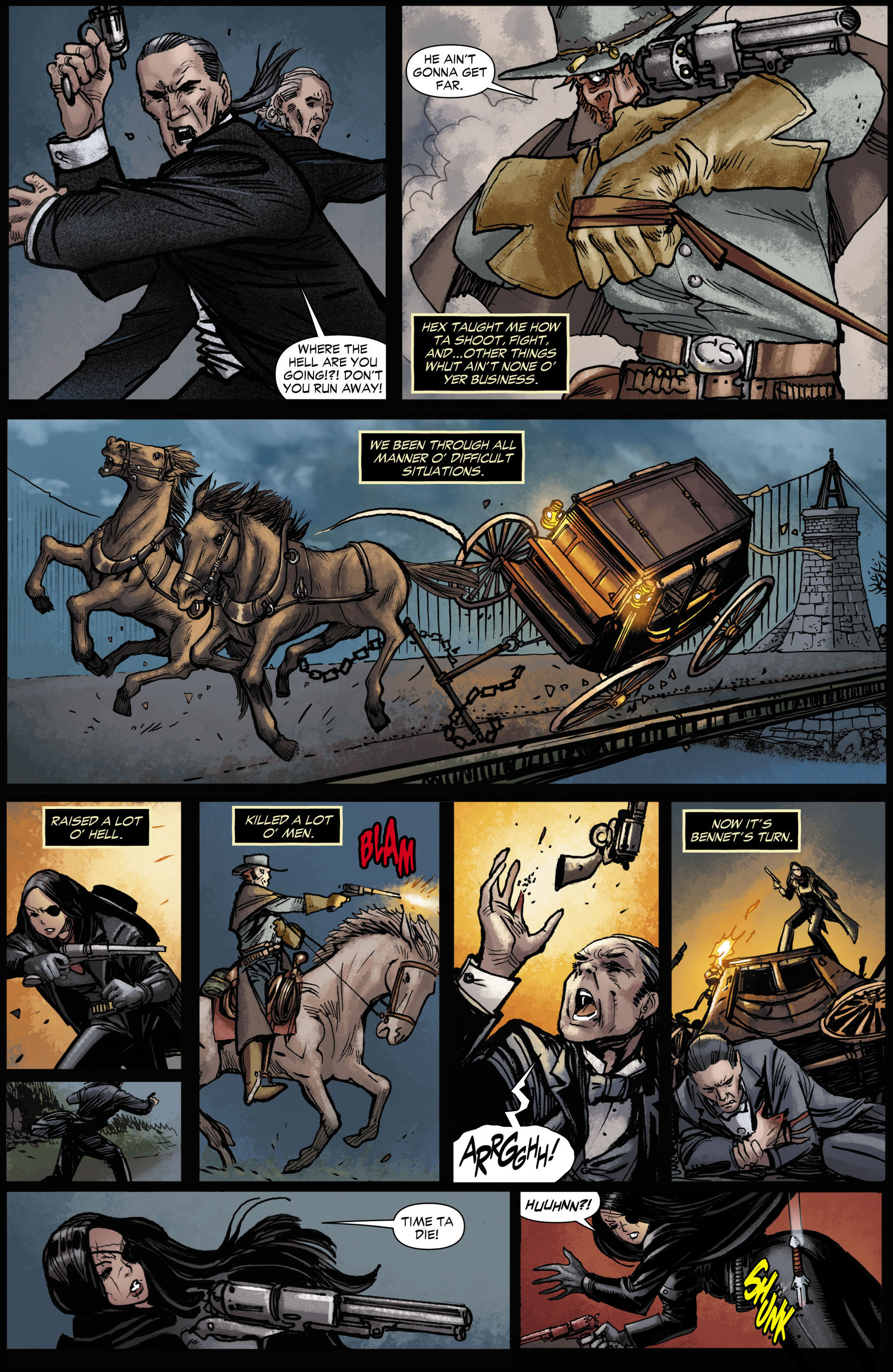 Read online All-Star Western (2011) comic -  Issue #11 - 7