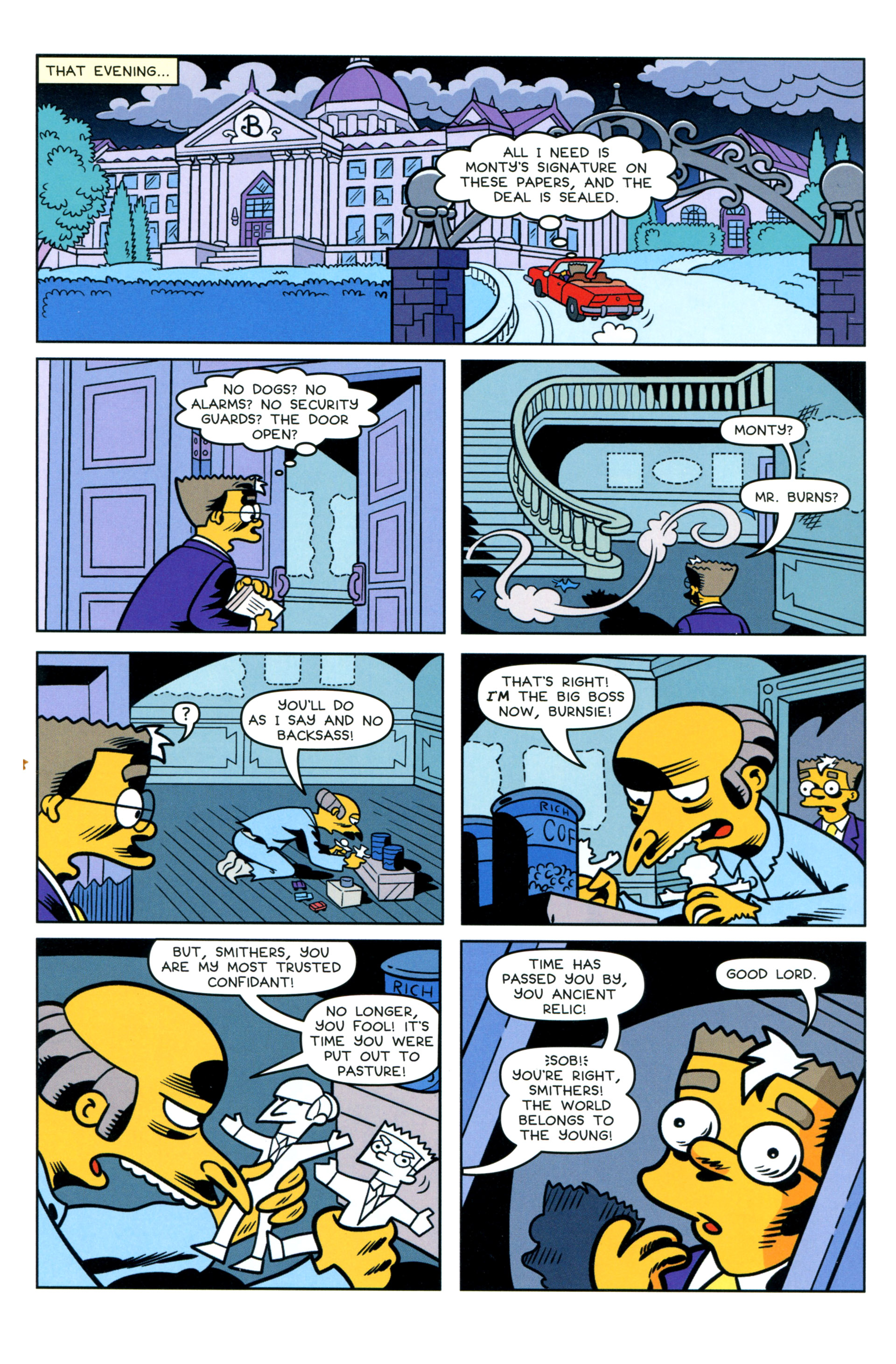 Read online Simpsons Comics comic -  Issue #205 - 17