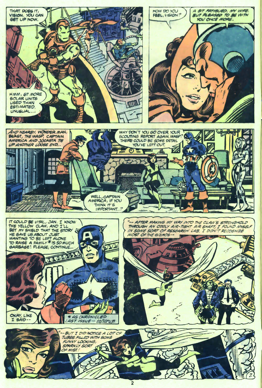 The Avengers (1963) 205 Page 2