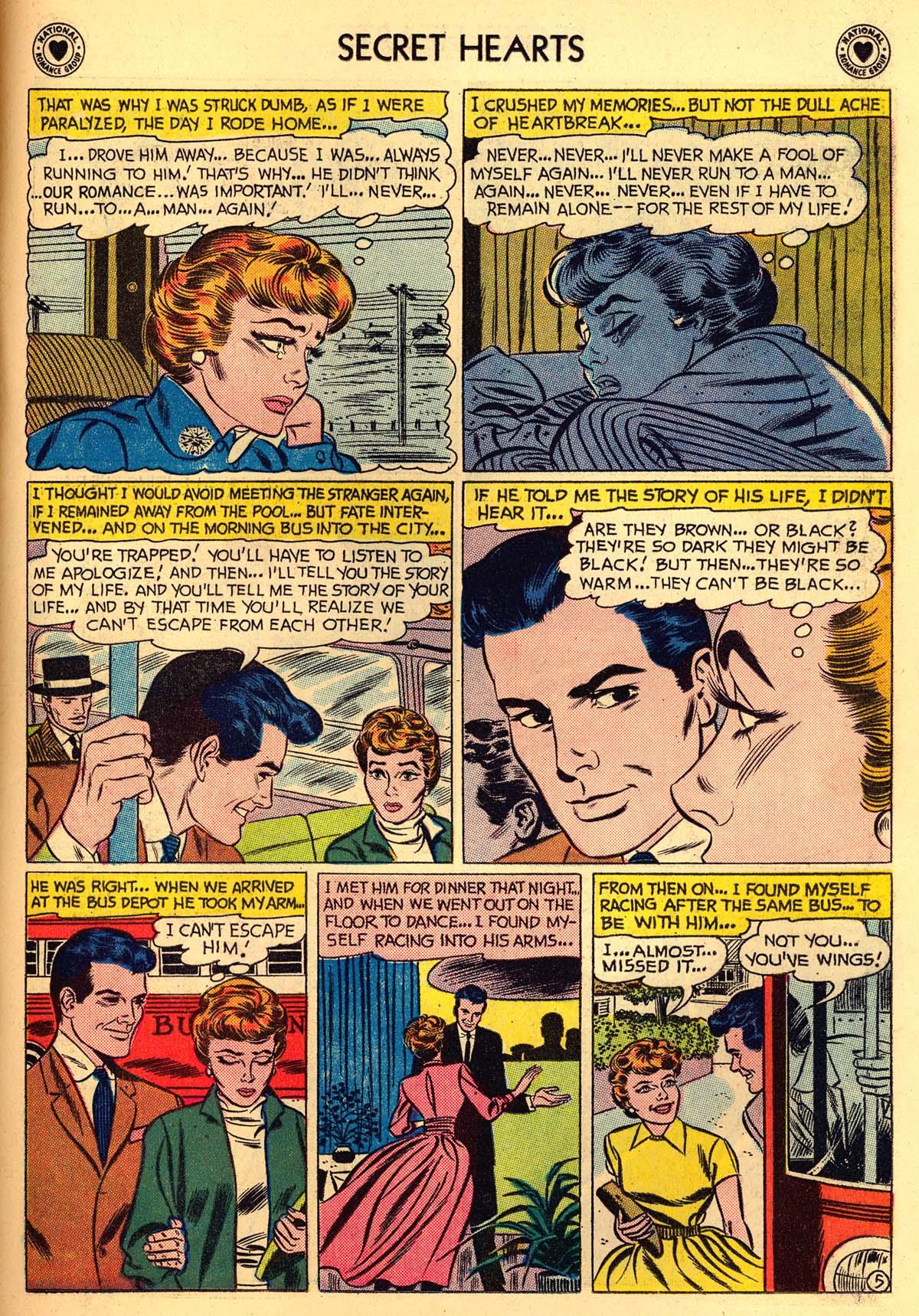 Read online Secret Hearts comic -  Issue #55 - 31