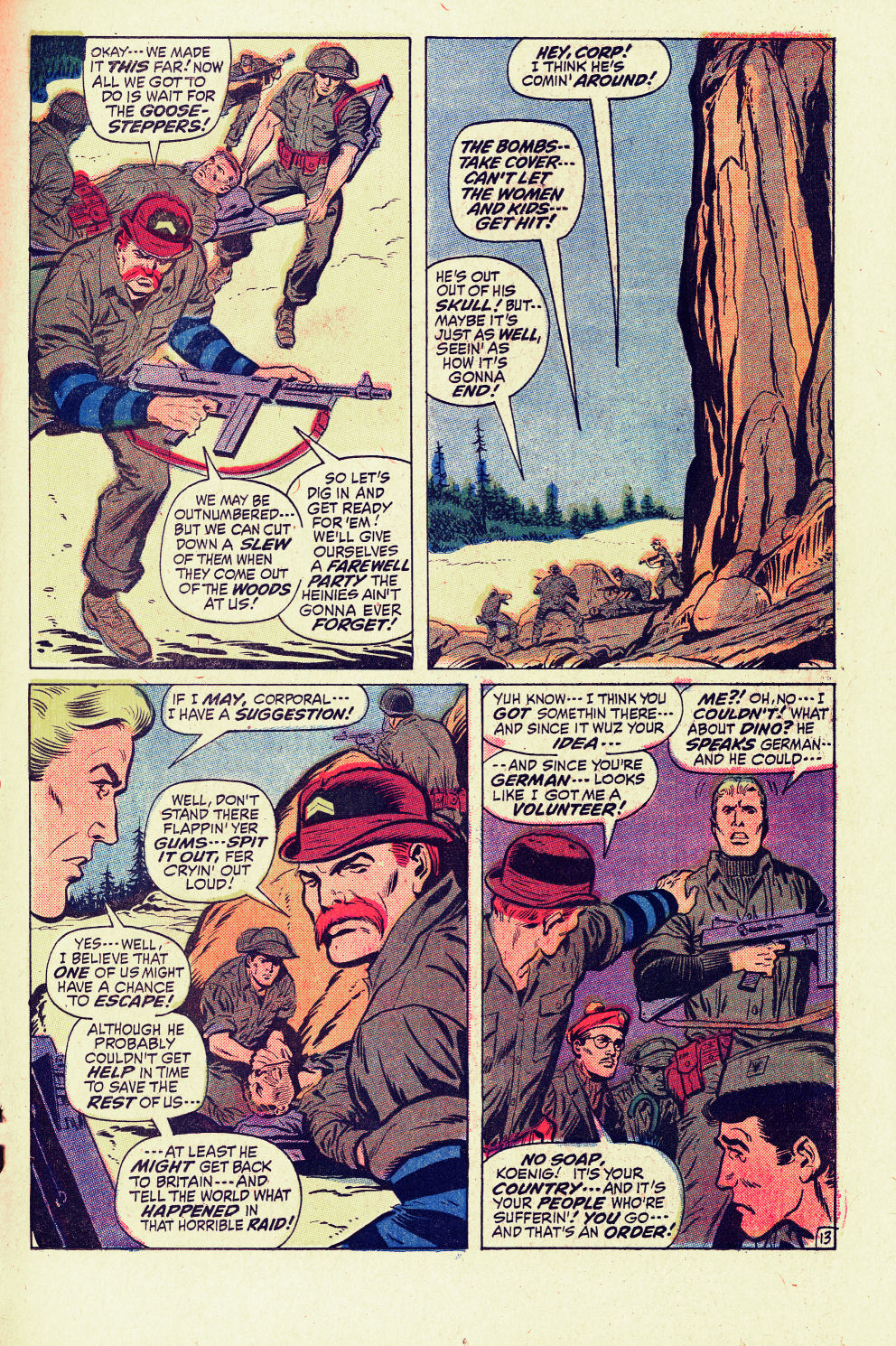 Read online Sgt. Fury comic -  Issue #96 - 19