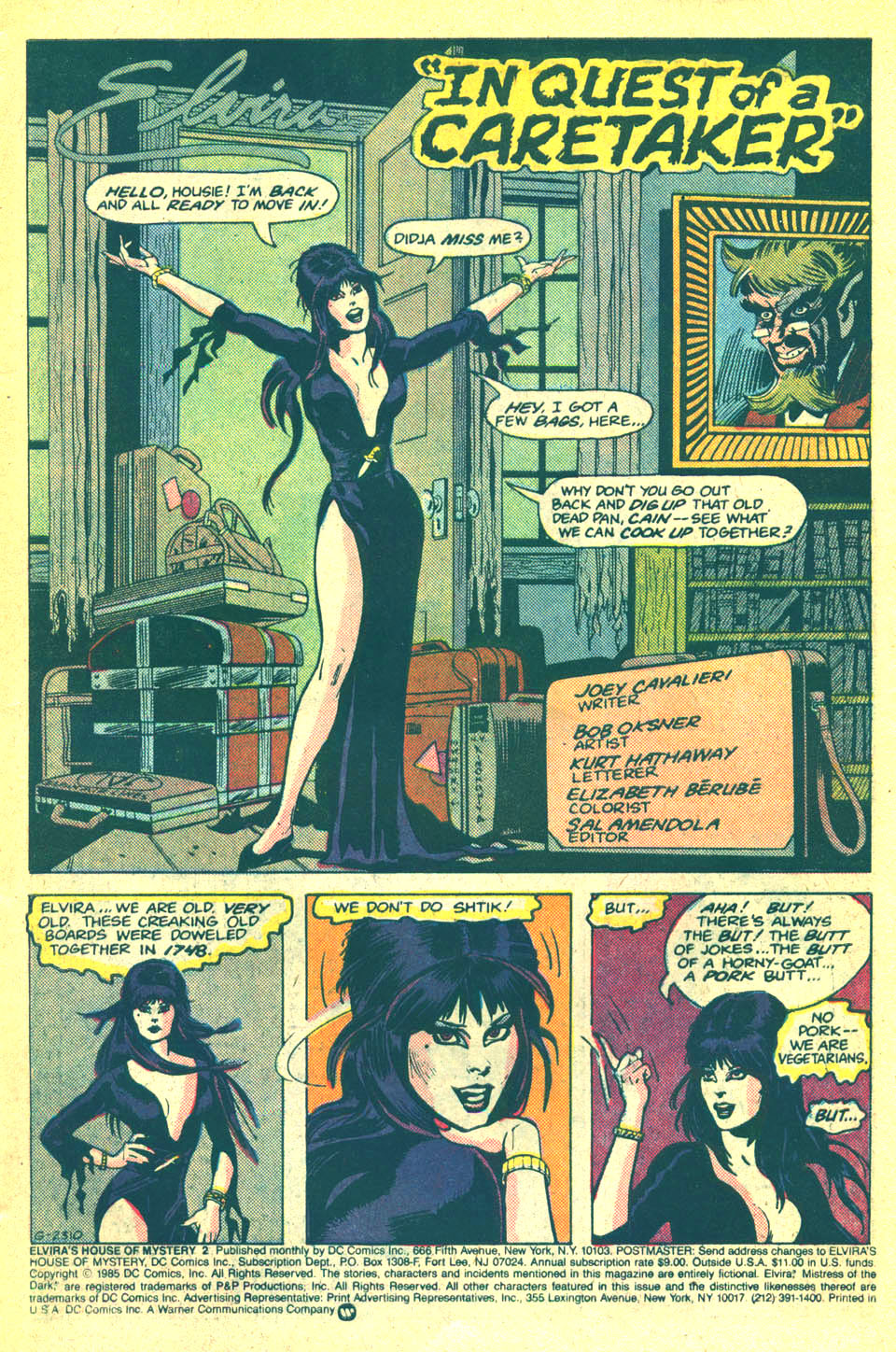 Elvira's House of Mystery Issue #2 #3 - English 2