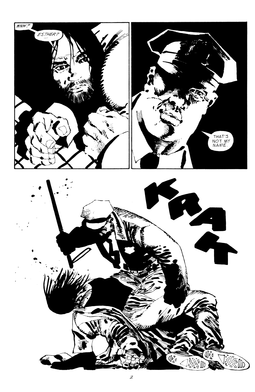 Read online Sin City: Hell and Back comic -  Issue #2 - 3