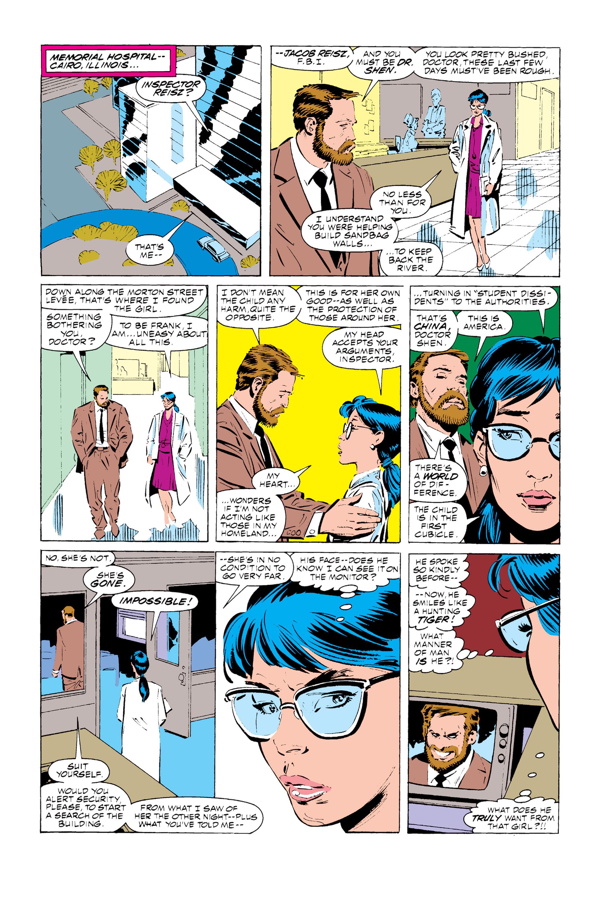 Read online Uncanny X-Men (1963) comic -  Issue #255 - 7